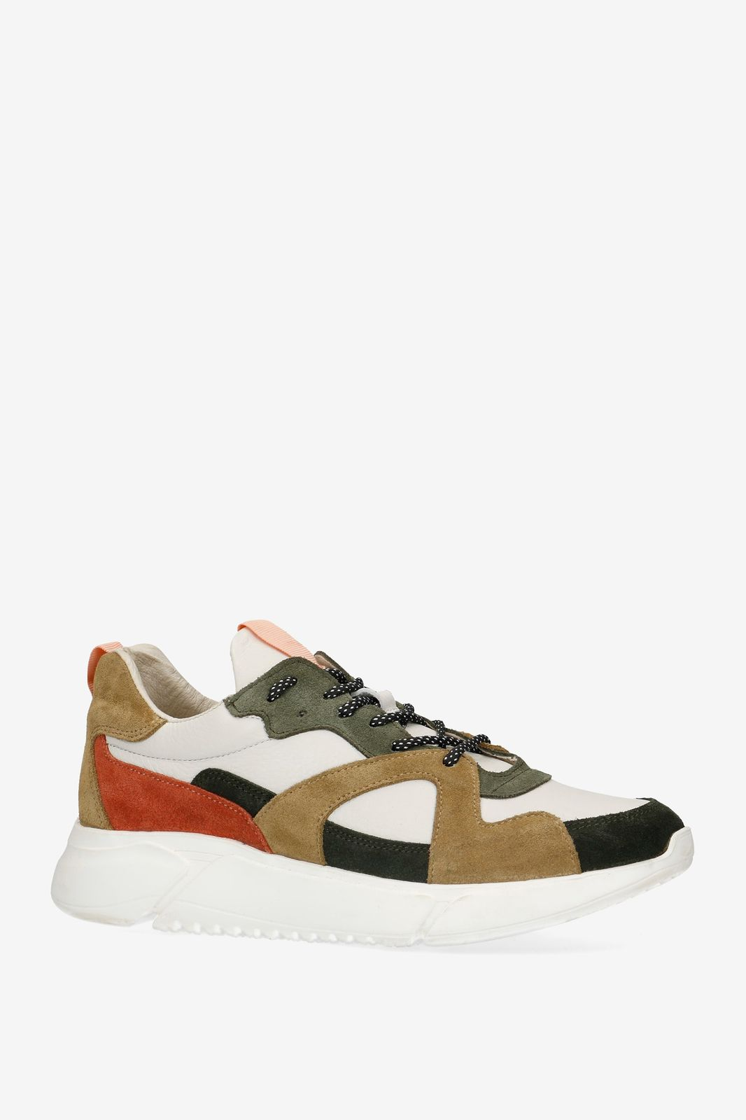 Groene dad sneakers
