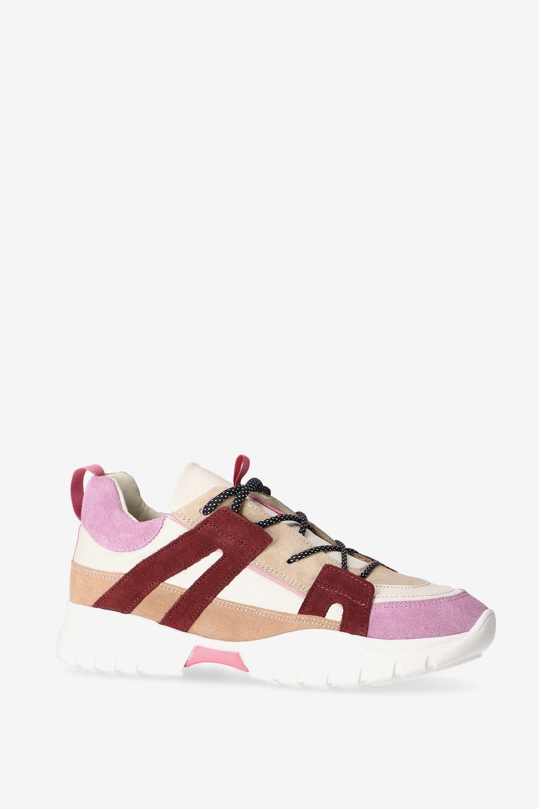 Donkerrode dad sneakers - Dames | Sissy-Boy