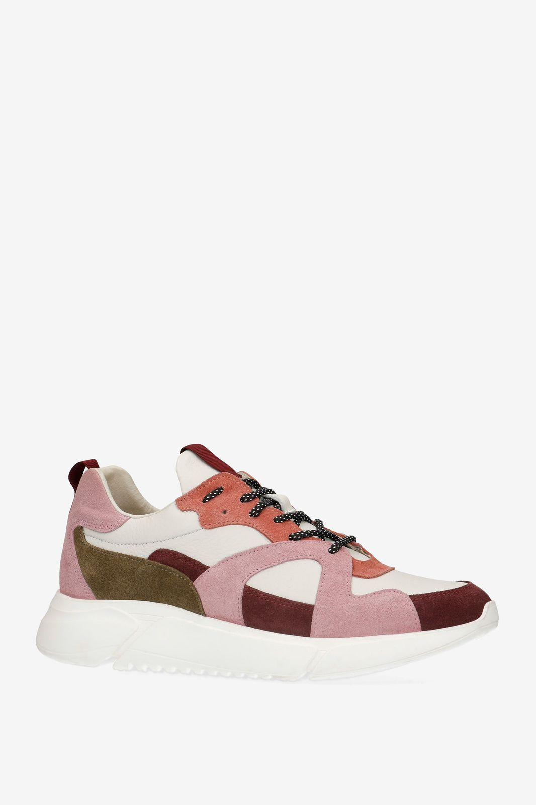 Roze dad sneakers