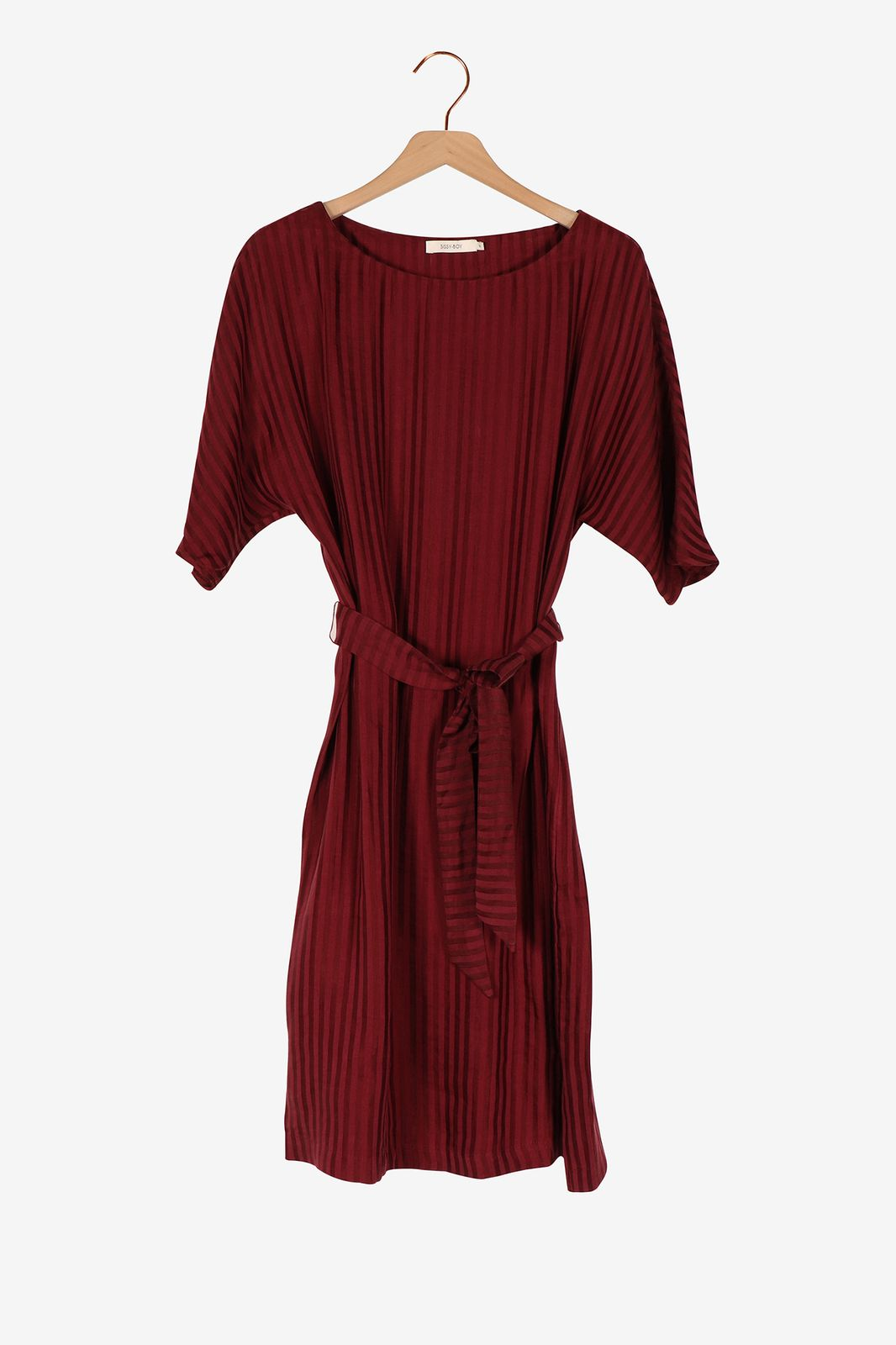 Paars gestreepte jurk - Dames | Sissy-Boy