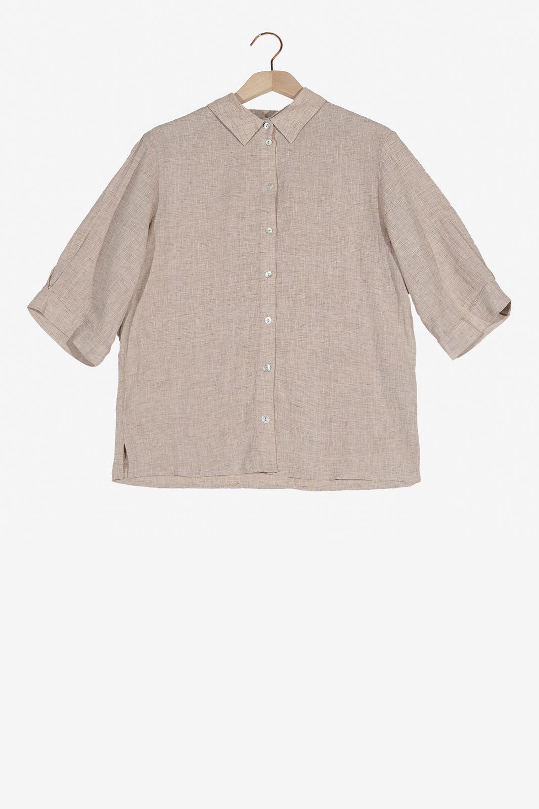 Almond blouse met korte mouwen - Dames | Sissy-Boy