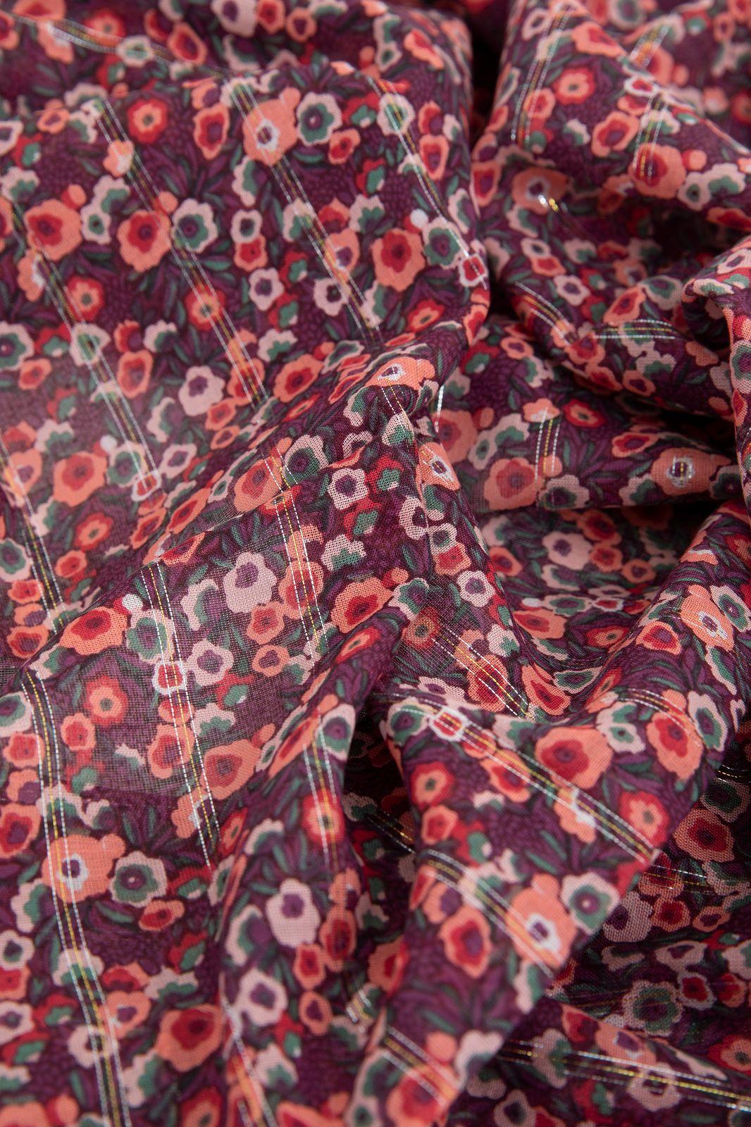 Sjaal met all over bloemenprint en tassles - Dames | Sissy-Boy
