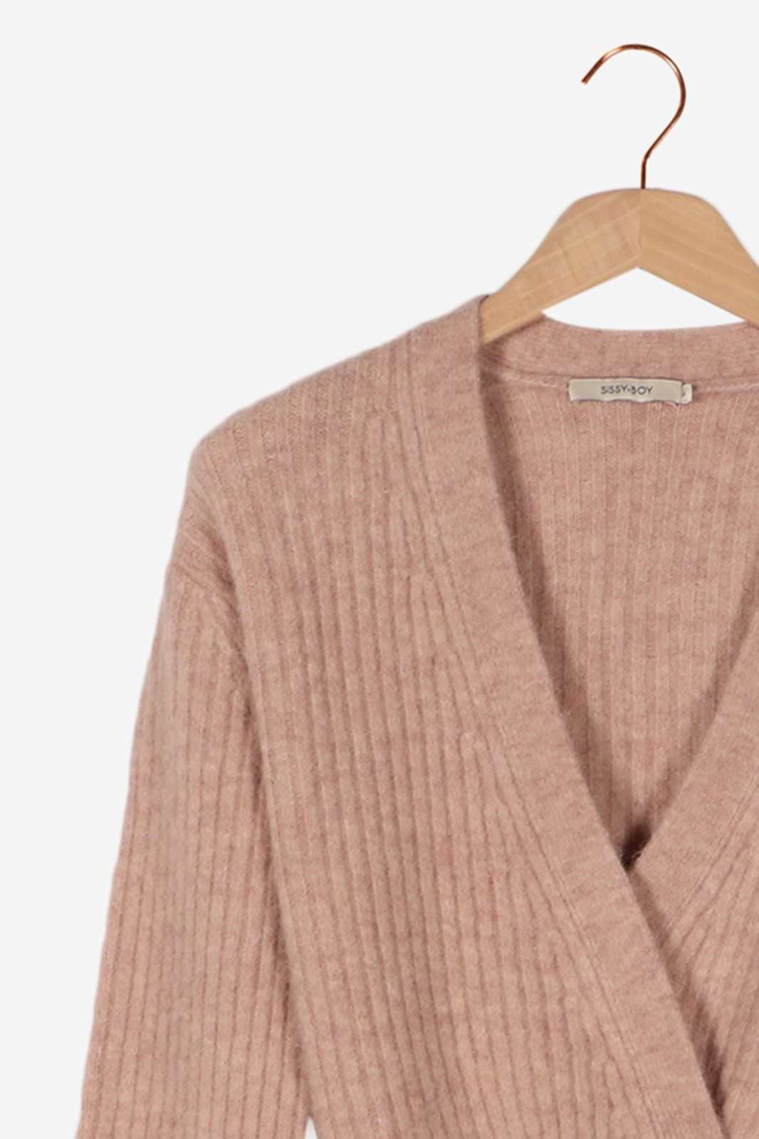 Roze vest met knopen - Dames | Sissy-Boy