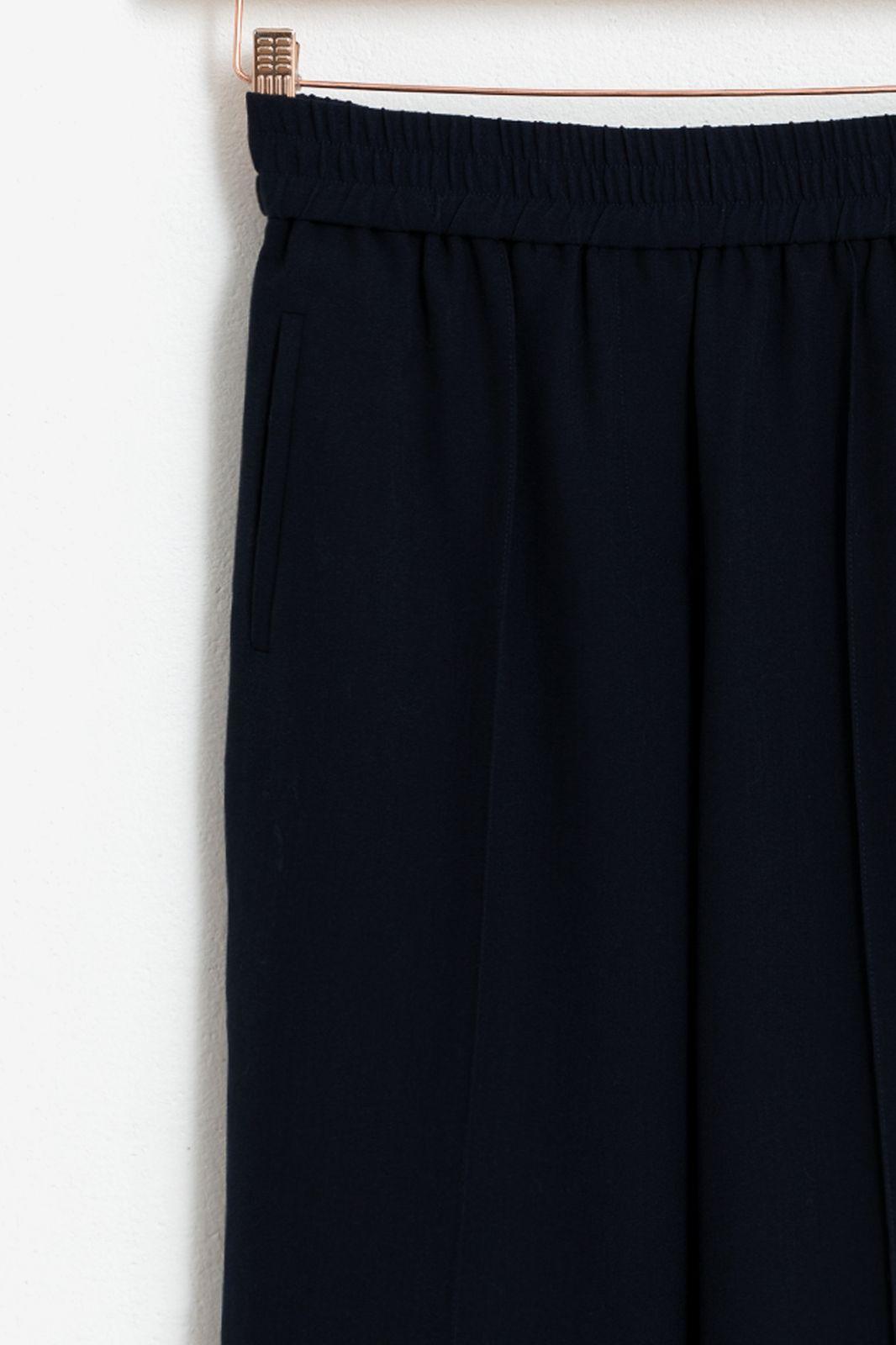 Tapered broek donkerblauw - Dames | Sissy-Boy
