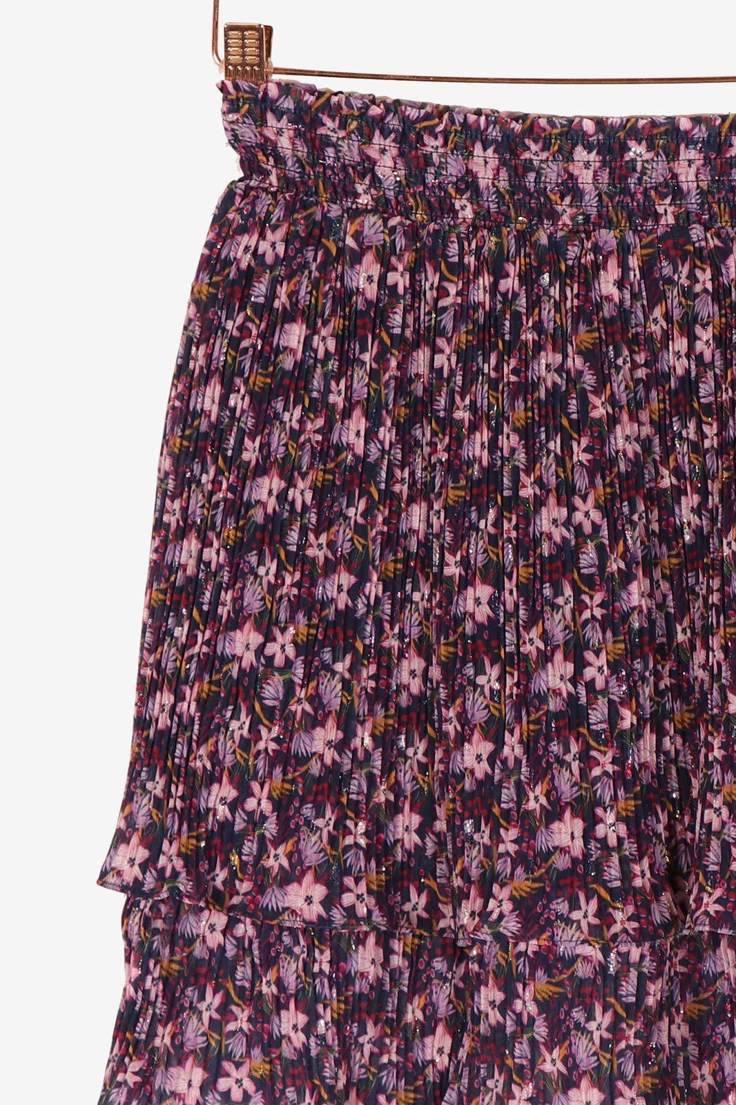 Paarse rok met bloemenprint - Dames | Sissy-Boy