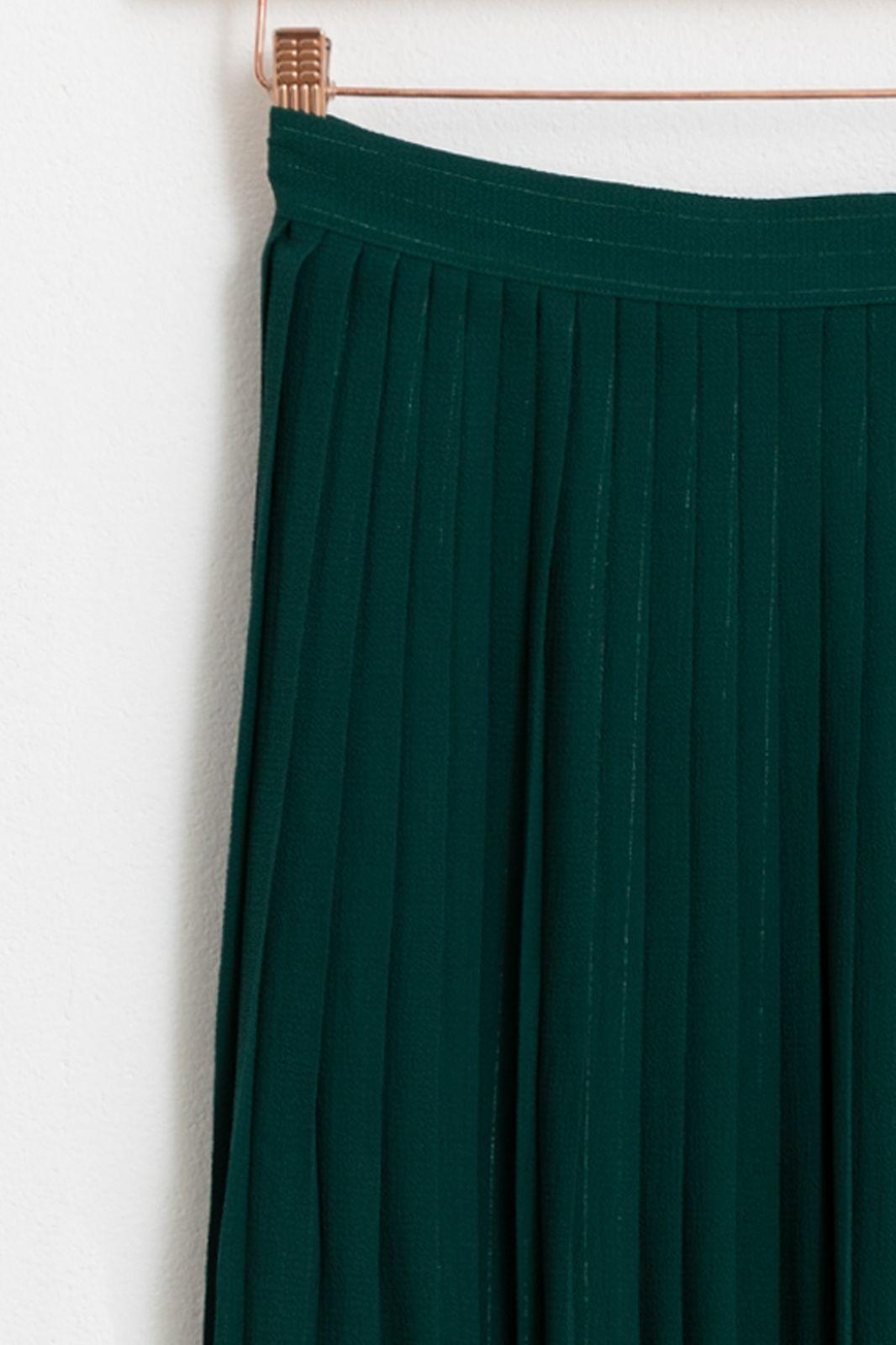 Groene plissé rok - Dames | Sissy-Boy
