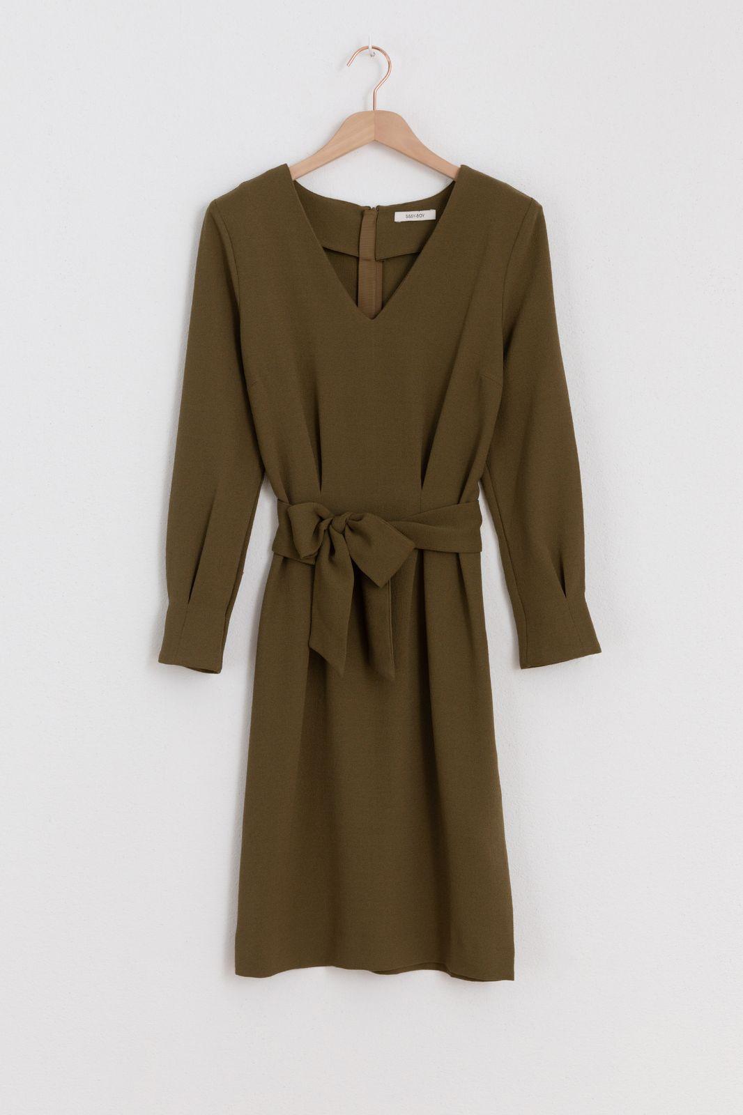 Khaki jurk