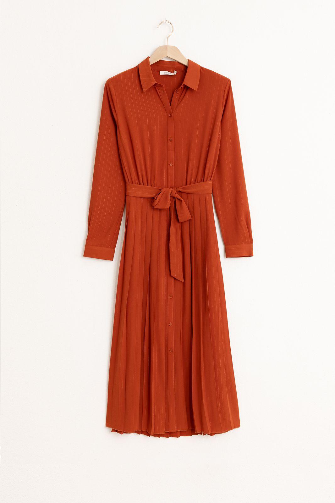 Rode plissé jurk - Dames | Sissy-Boy
