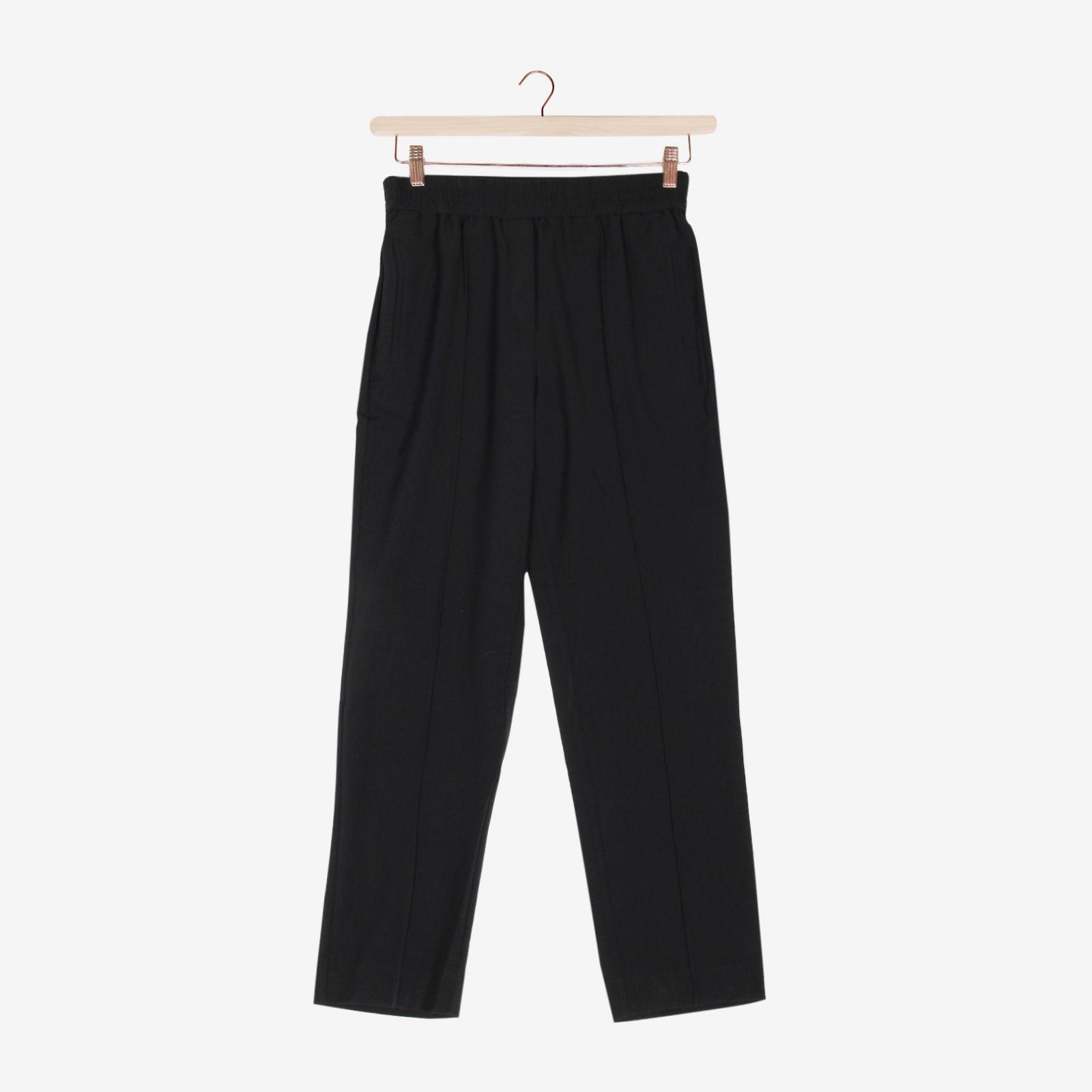Zwarte tapered broek