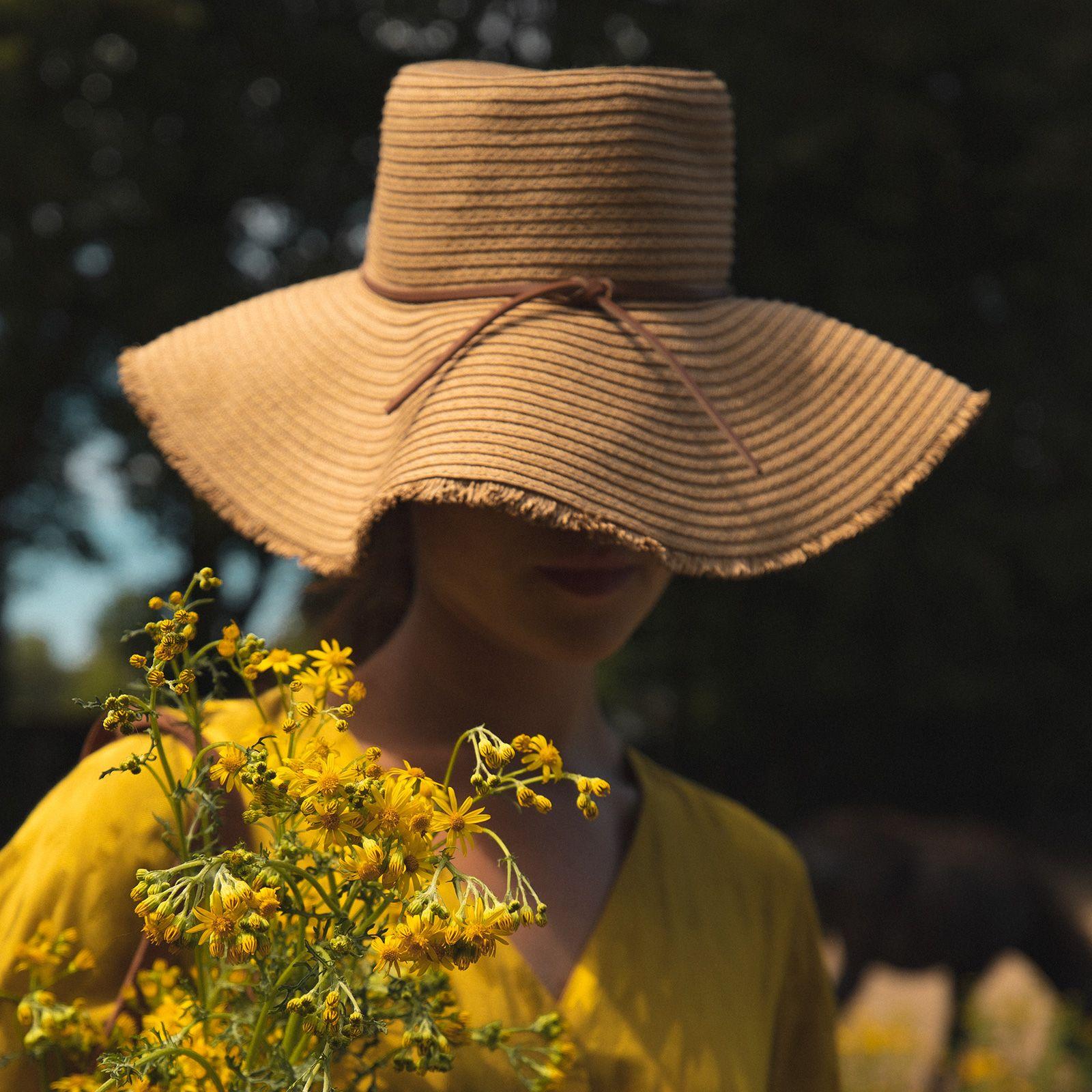 Rieten hoed met rafelrand - Dames | Sissy-Boy