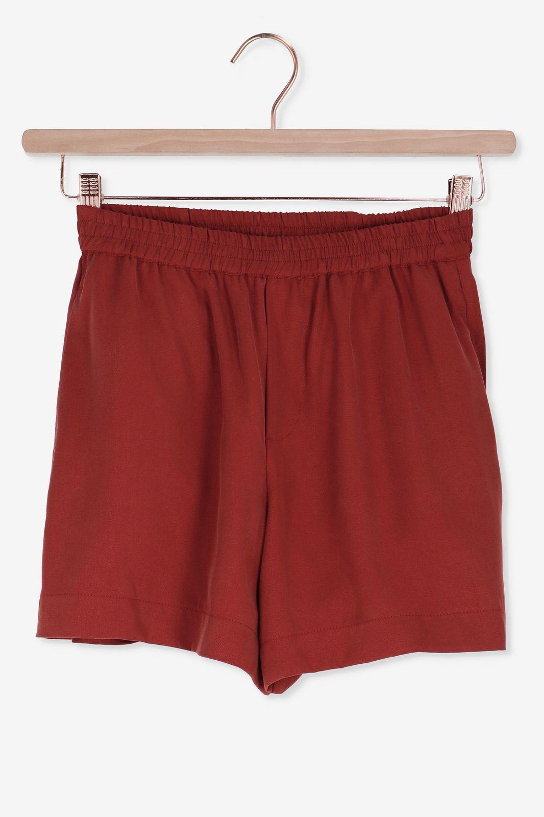 Donkerrode korte broek - Dames | Sissy-Boy