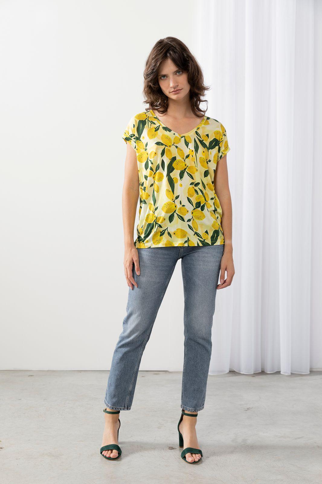 T-shirt citroenen
