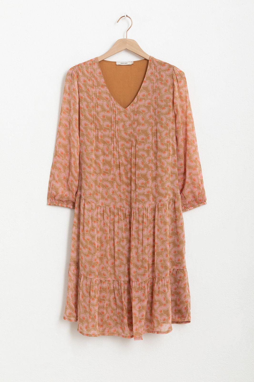 All over print jurk met ruffles - Dames | Sissy-Boy