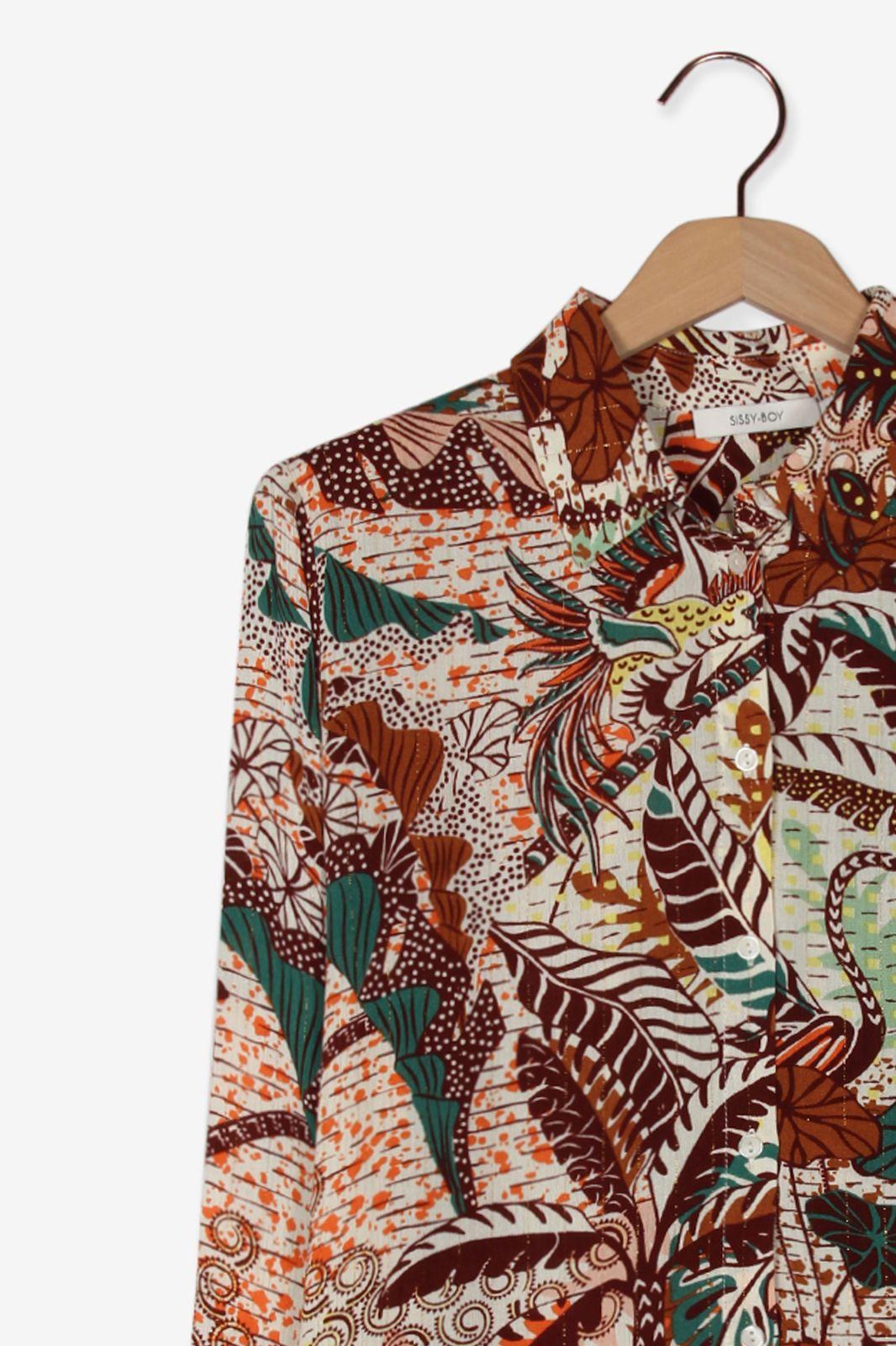 Multicolor blouse met print - Dames   Sissy-Boy