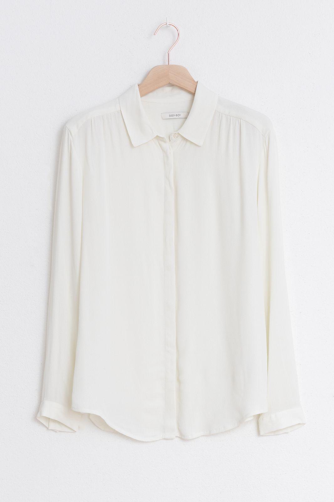 Witte essential blouse - Dames | Sissy-Boy