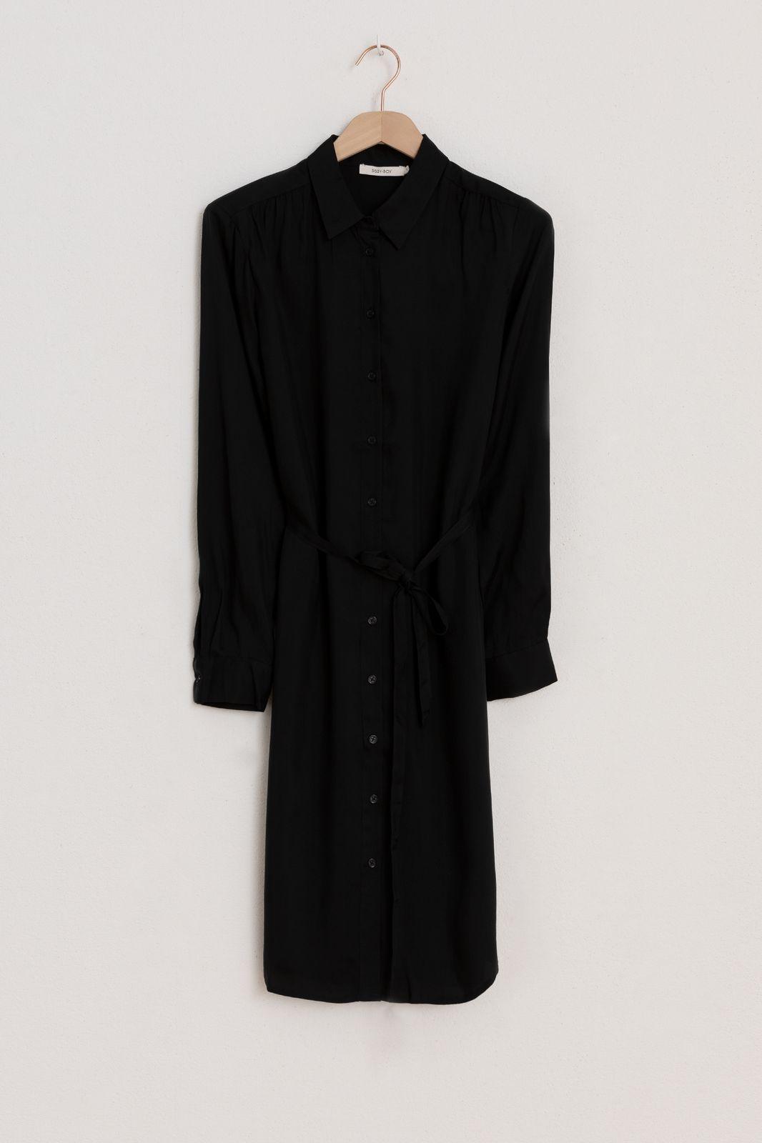 Zwarte blouse jurk