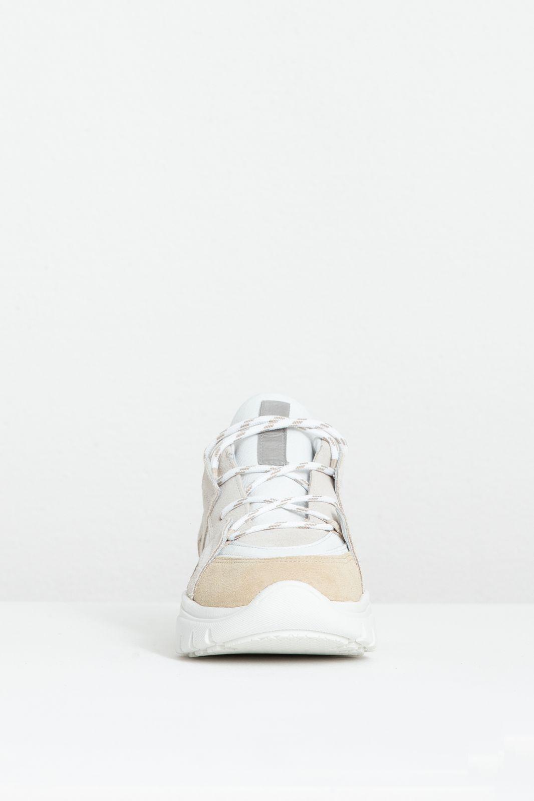 Beige met witte sneakers - Dames   Sissy-Boy
