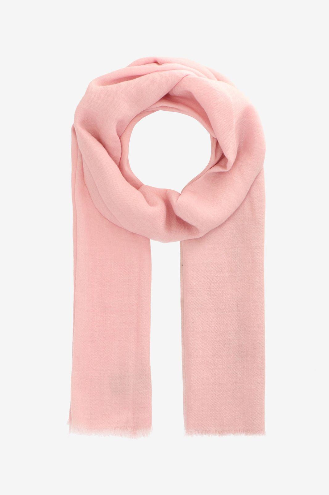 Roze sjaal van wol zijde mix - Dames | Sissy-Boy