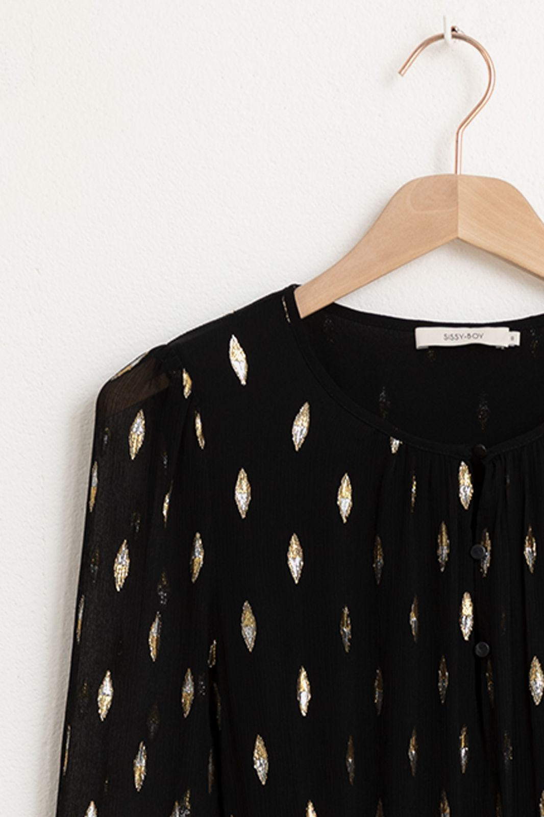 Zwarte silk dress - Dames | Sissy-Boy