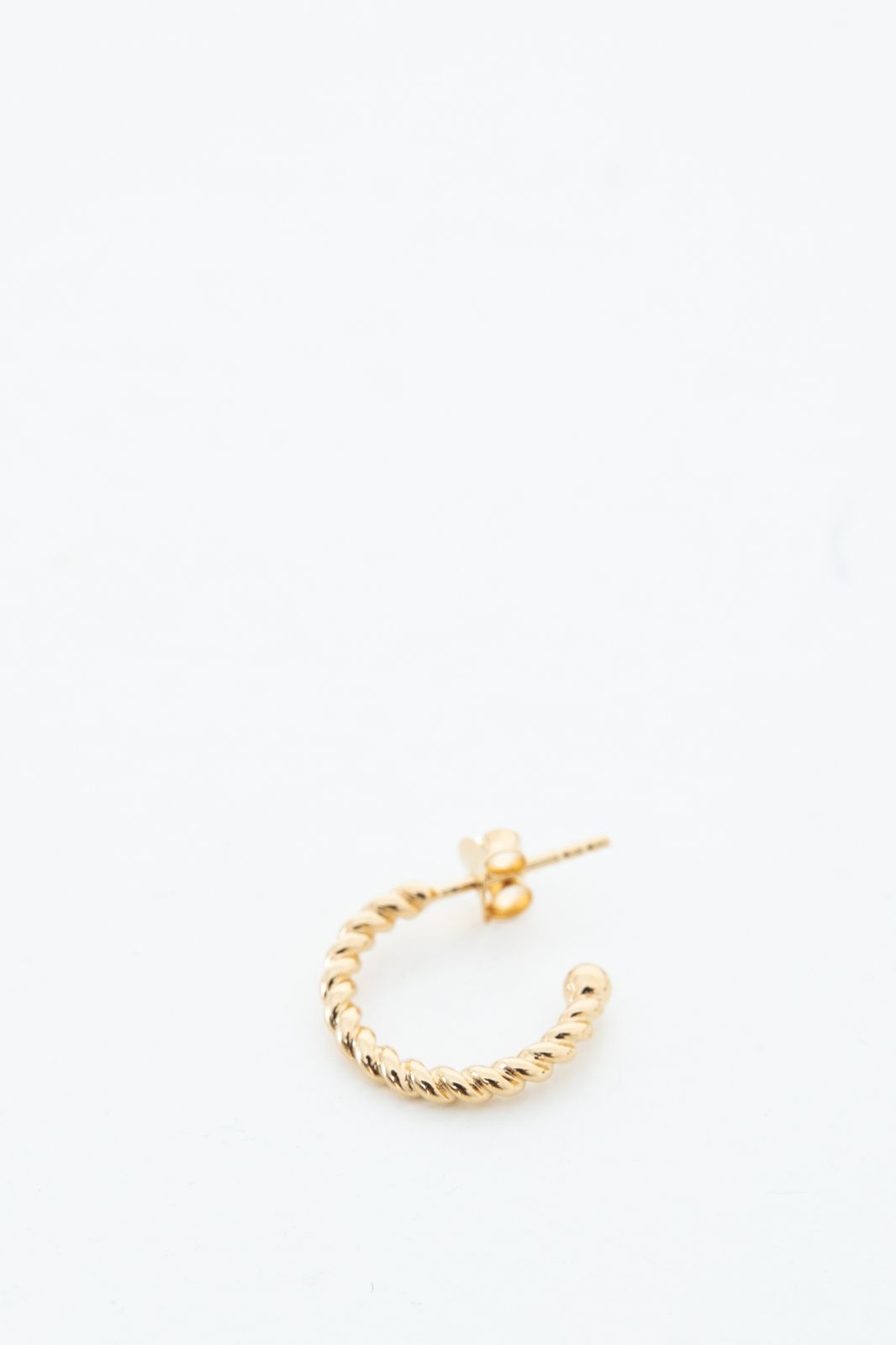 Goldpalted twisted hoops - Dames | Sissy-Boy