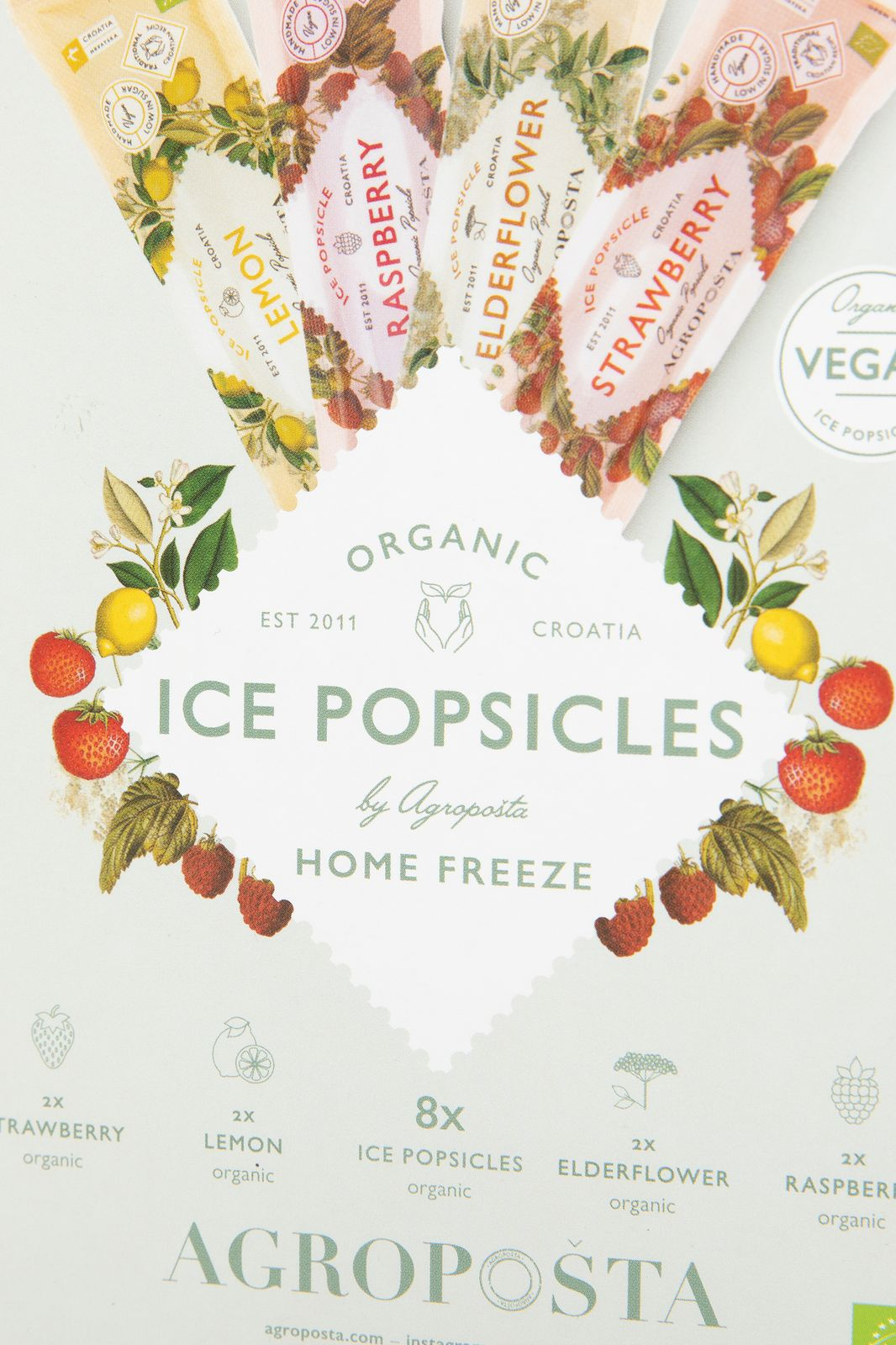 Ice popsicles set van 8 - Homeland | Sissy-Boy