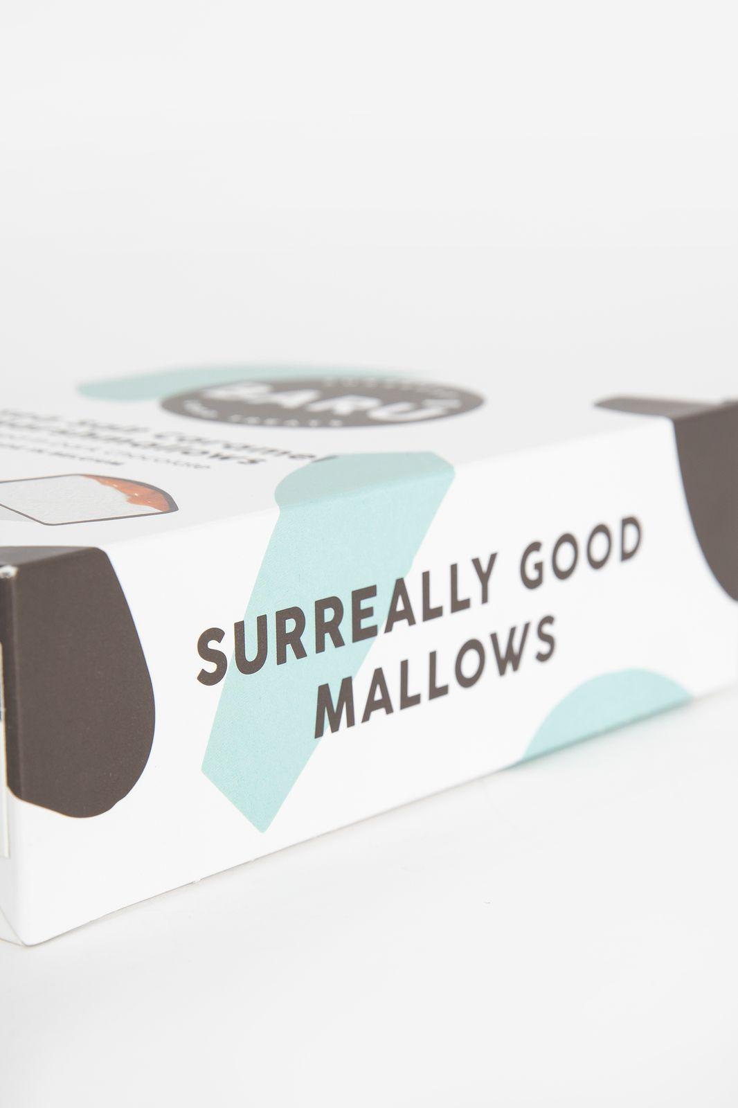 Marshmallow bar sea salt caramel