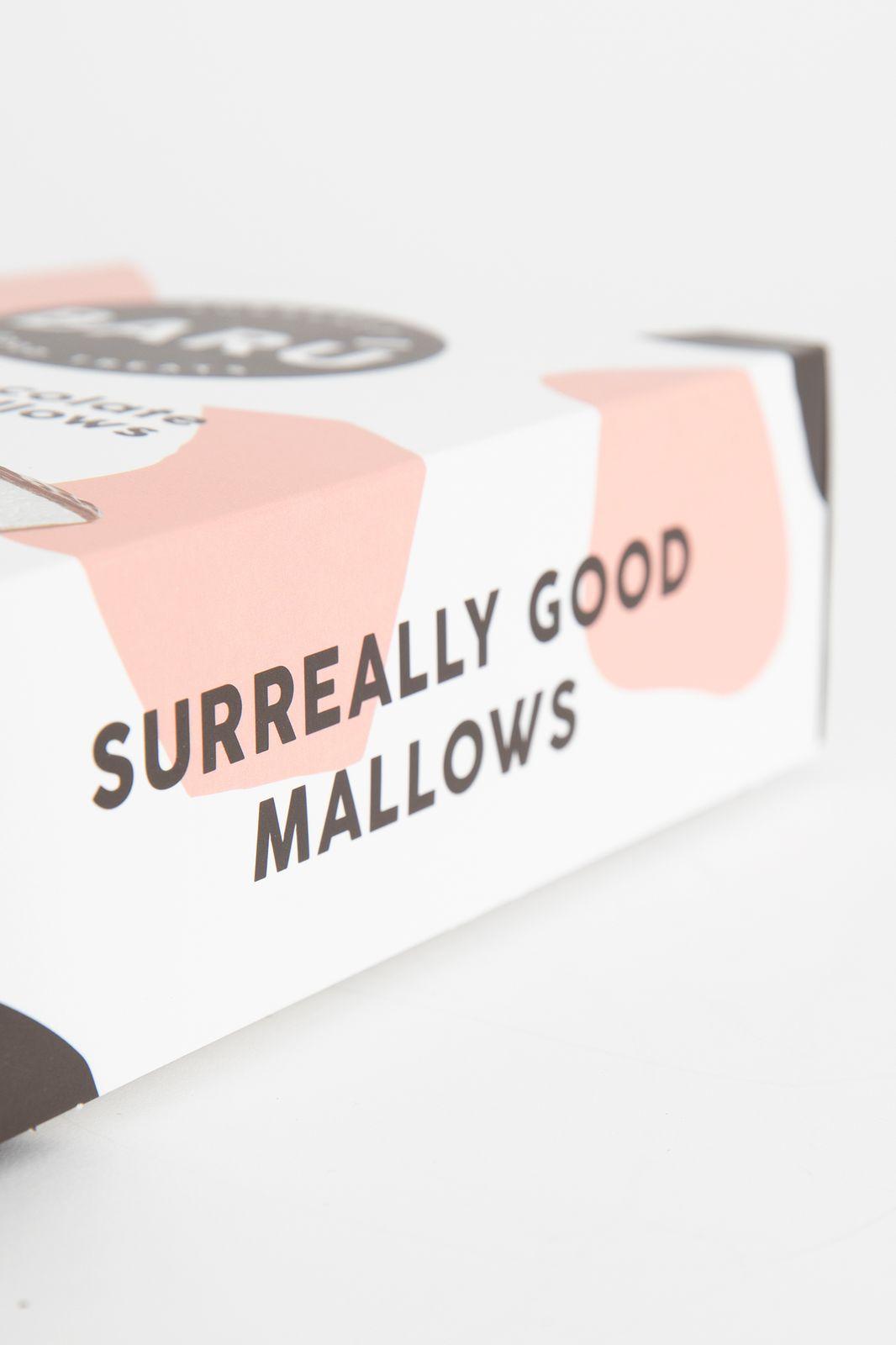Marshmallow bar milk chocolate