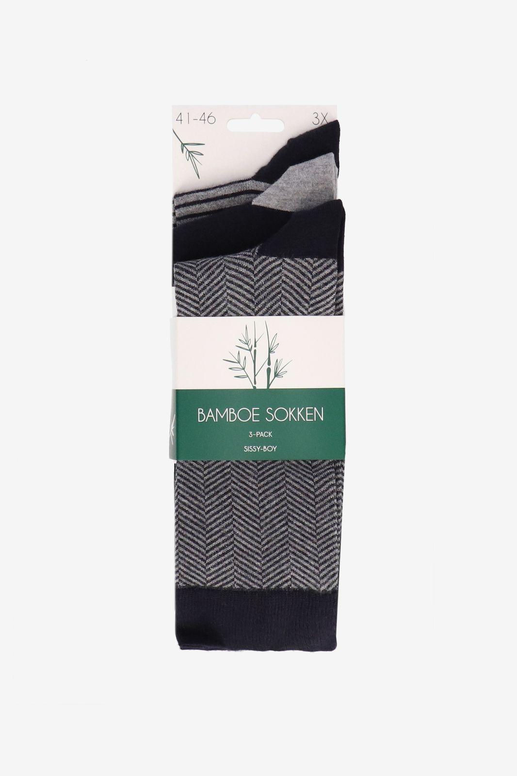 Blauwe bamboe sokken - Heren | Sissy-Boy