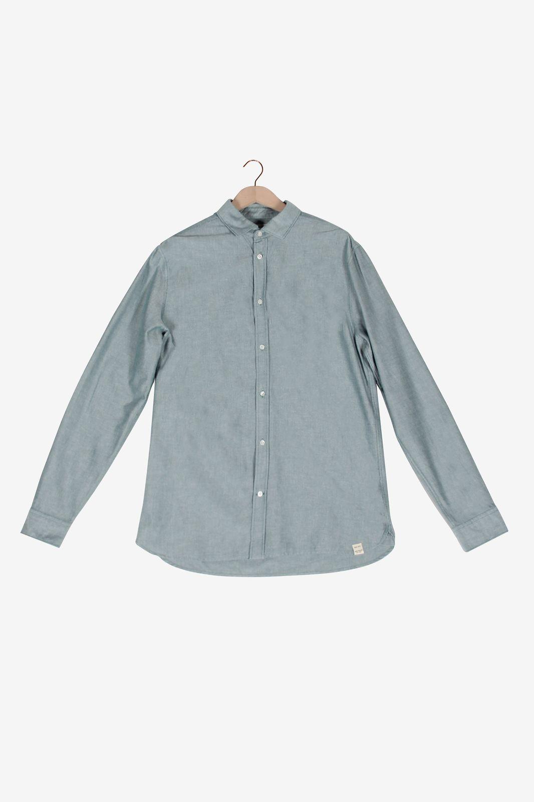 Groenkleurig overhemd
