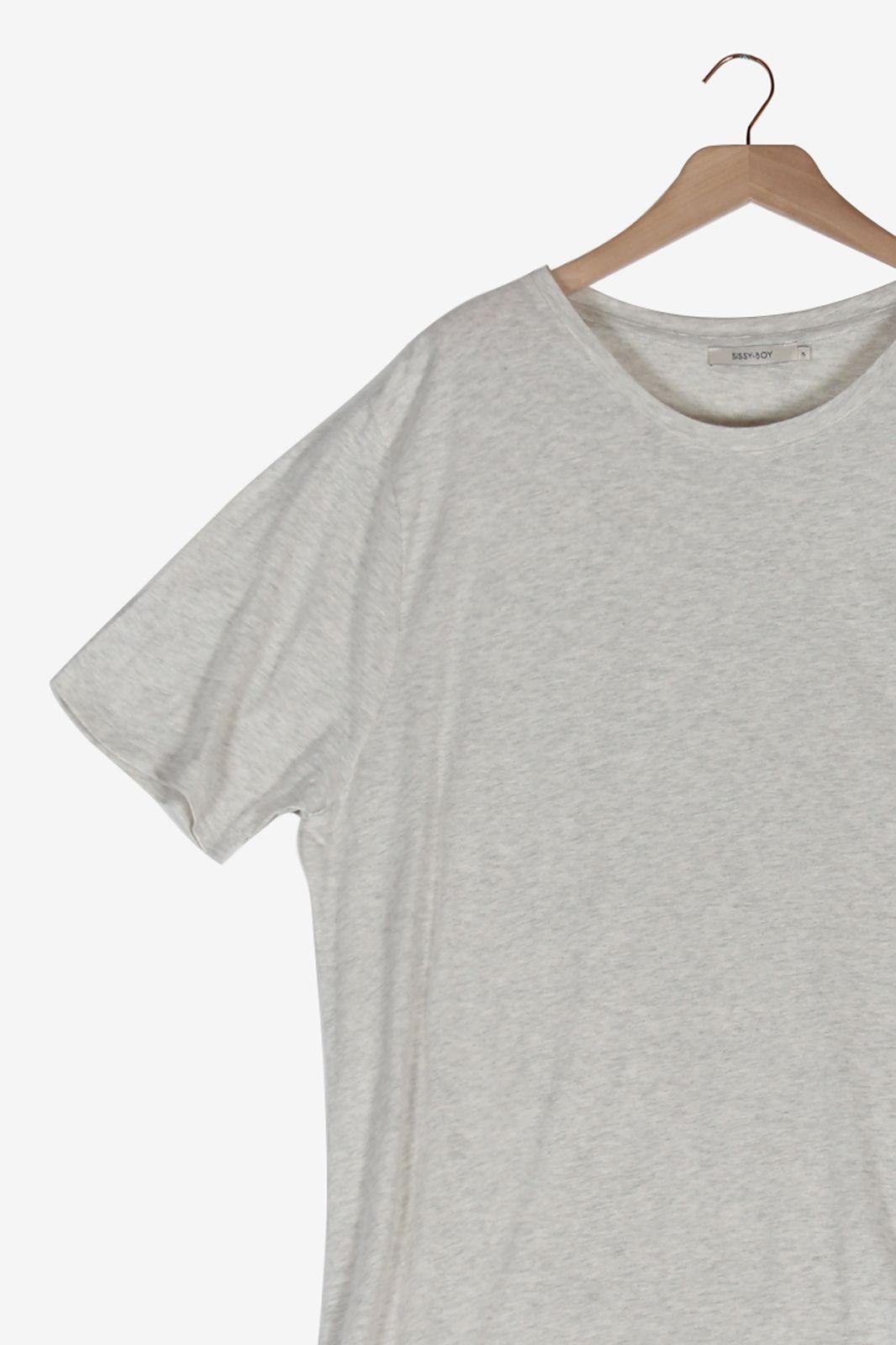 Grijs gestreept t-shirt - Heren   Sissy-Boy