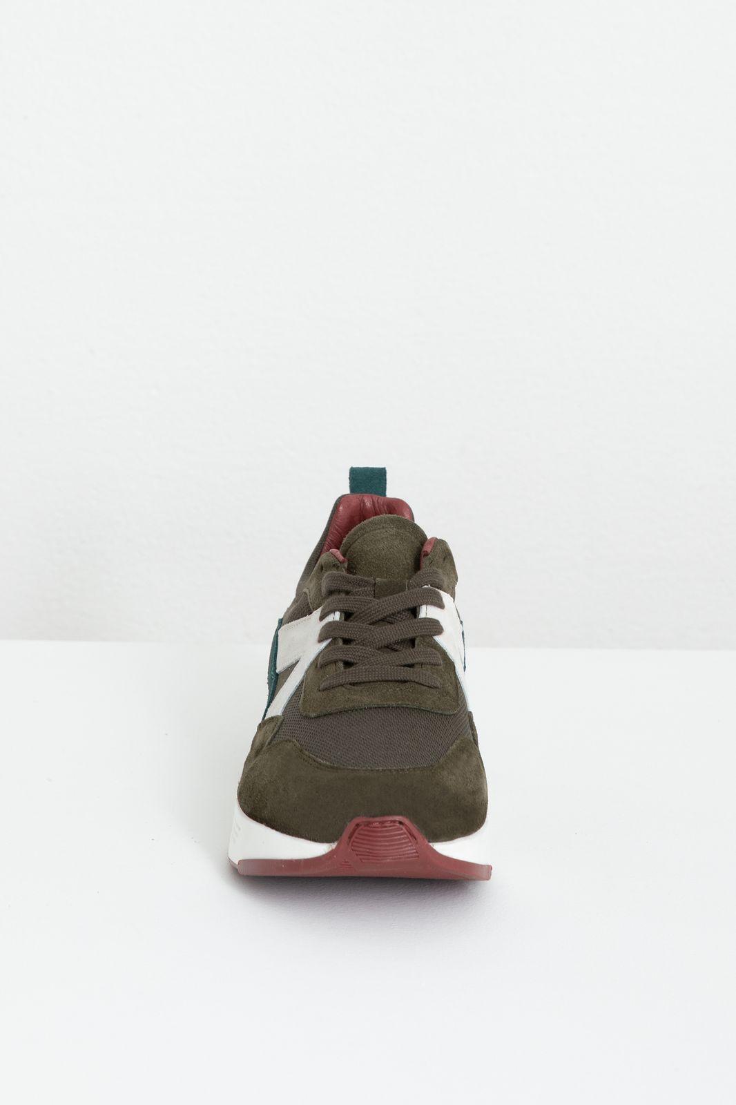 Donkergroene sneakers - Heren   Sissy-Boy