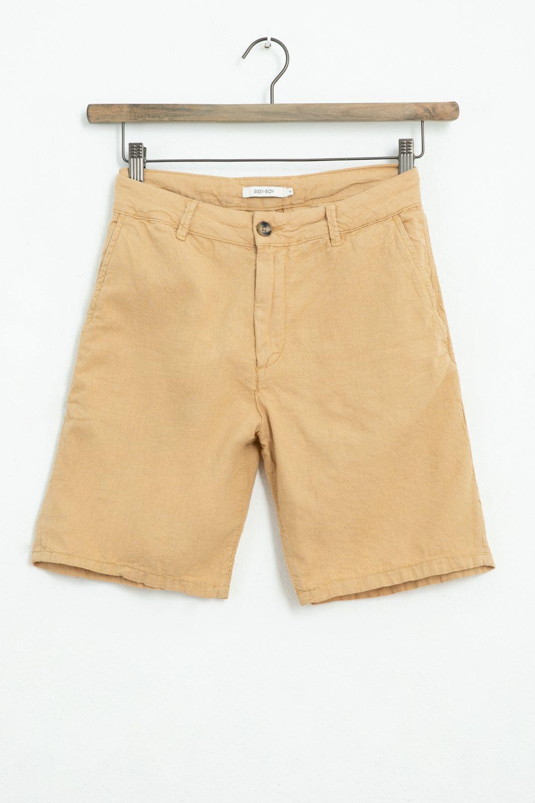 Beige chino shorts - Heren | Sissy-Boy