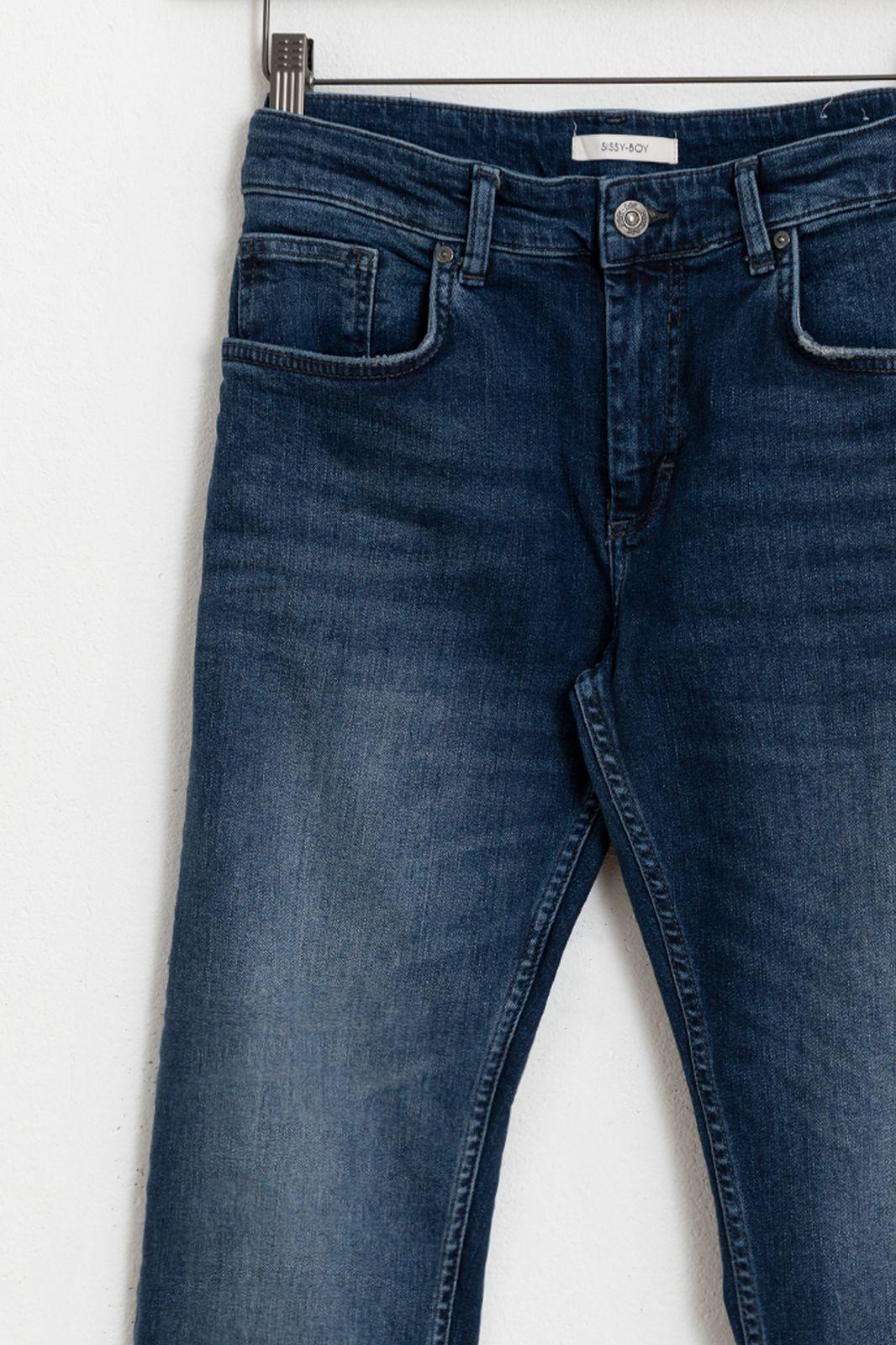 Blauwe denim jeans slim fit - Dames | Sissy-Boy