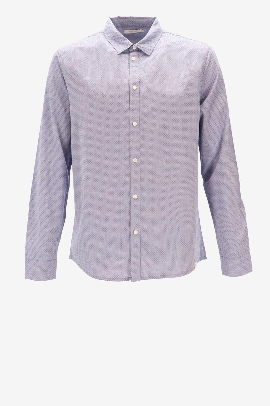 Blauw overhemd - Heren   Sissy-Boy