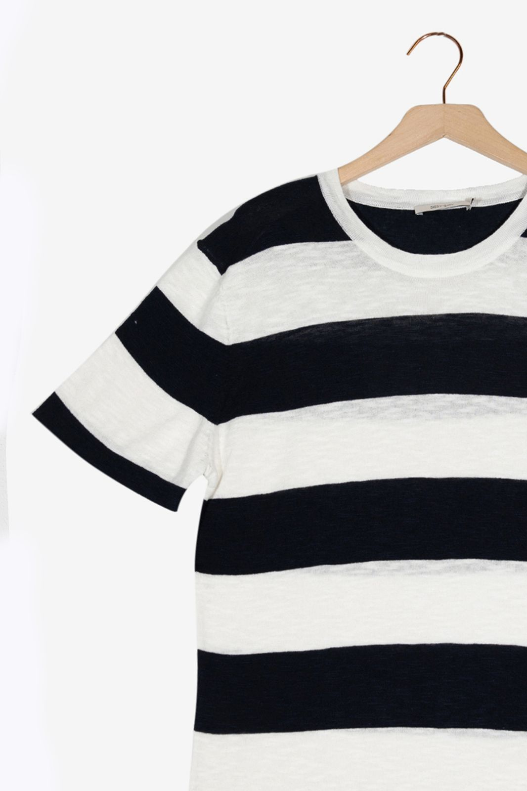 Blauw gestreept T-shirt - Heren   Sissy-Boy