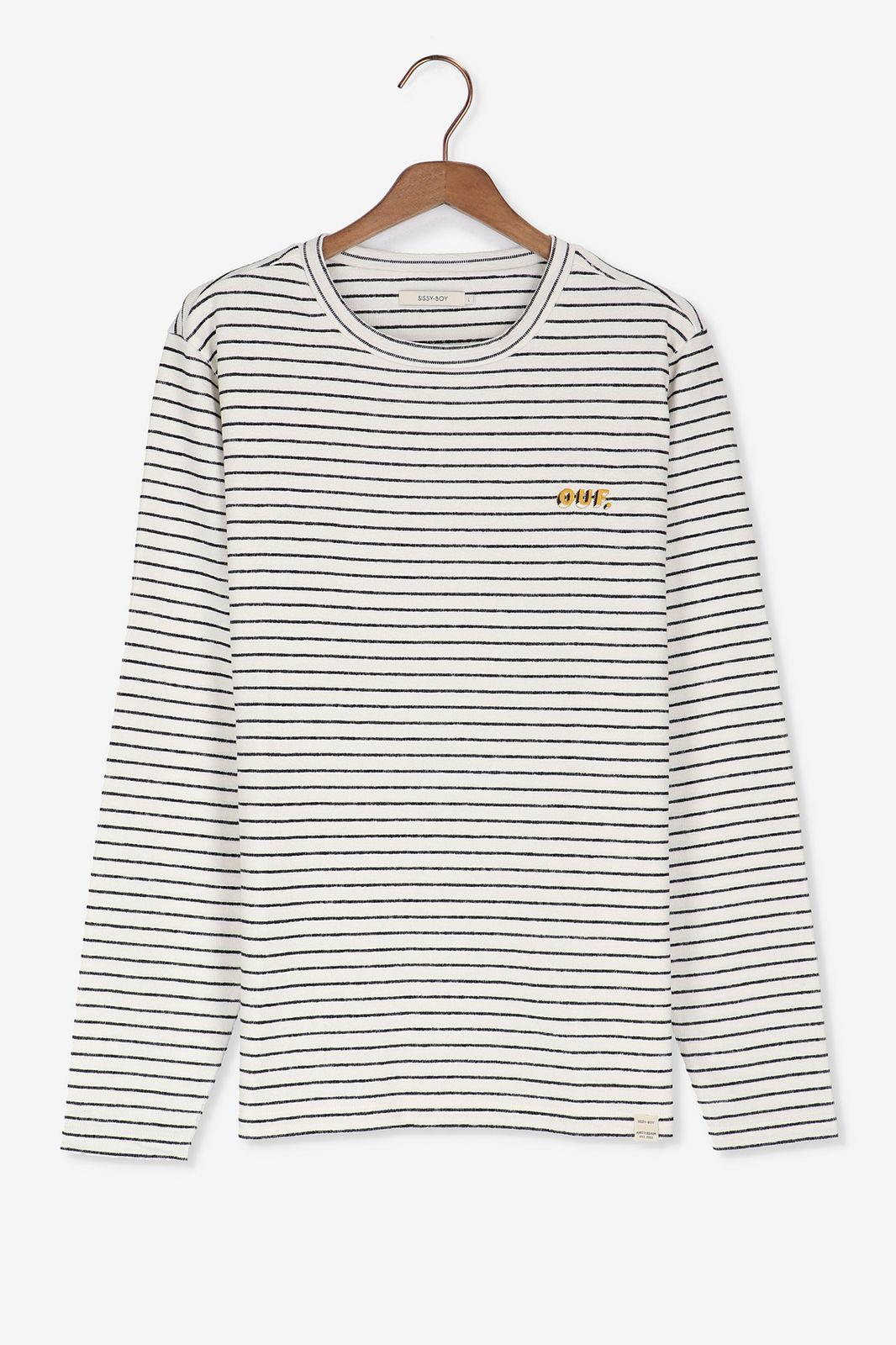 Gestreepte sweater OUF
