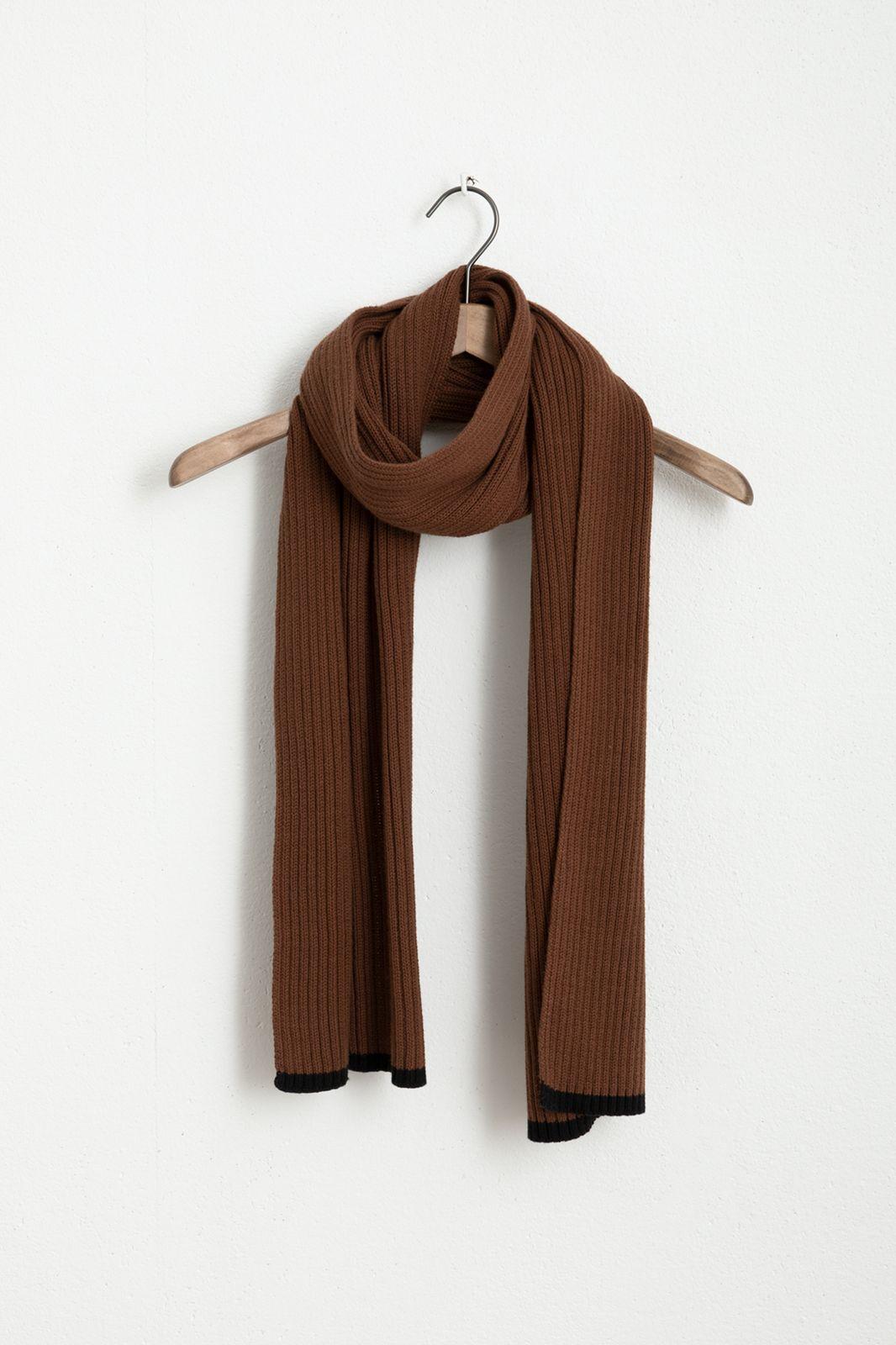 Bruine kabel sjaal - Heren | Sissy-Boy