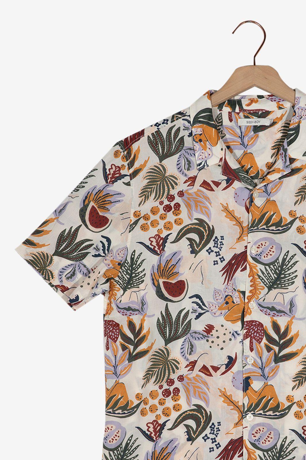 Overhemd met print - Heren | Sissy-Boy
