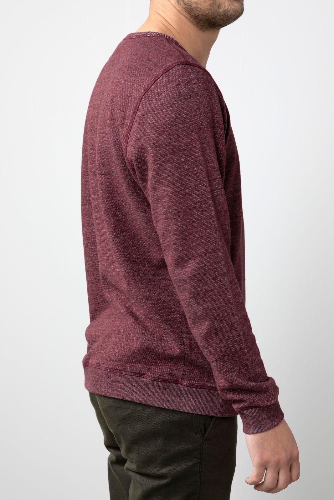 Bruin/paars t-shirt structuur