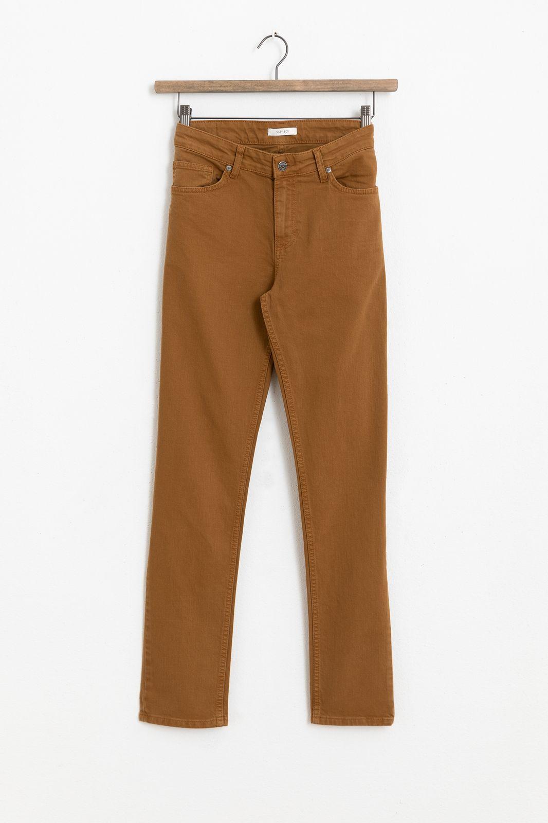 Bruine twill jeans - Heren | Sissy-Boy