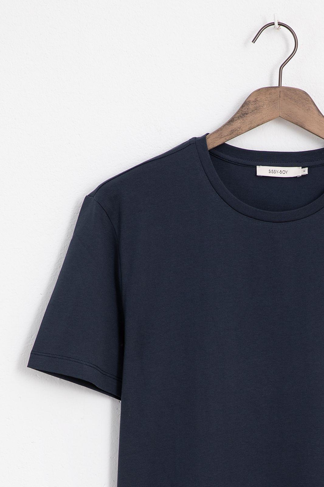 Donkerblauw T-shirt - Heren | Sissy-Boy