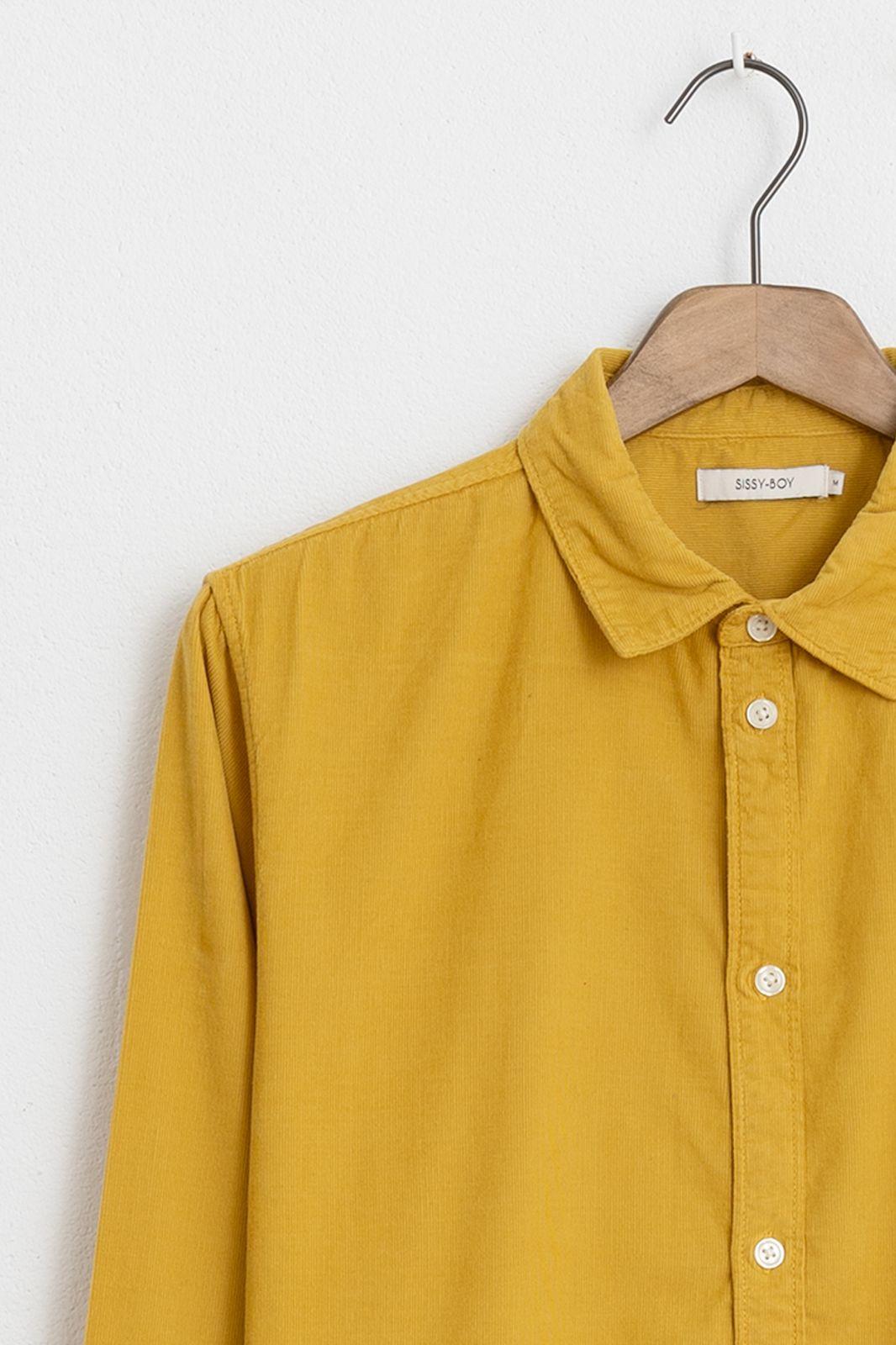 Geel corduroy overhemd - Heren | Sissy-Boy