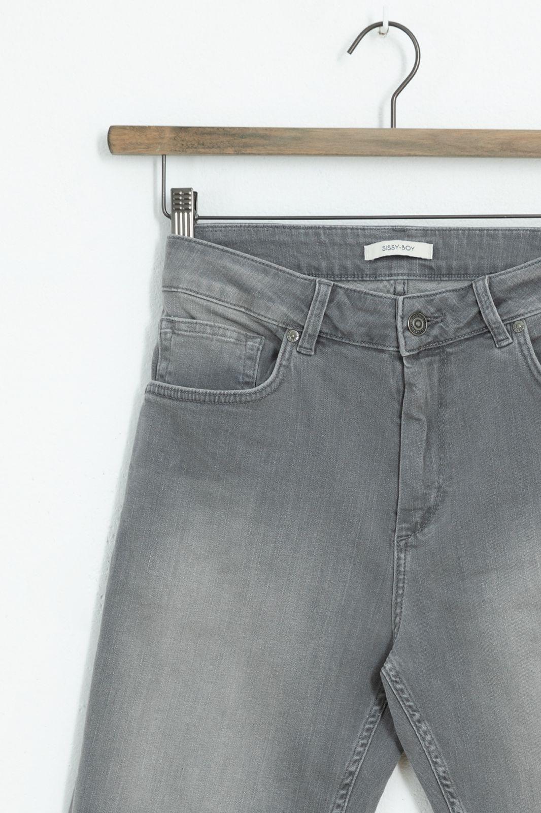 Grijze denim shorts