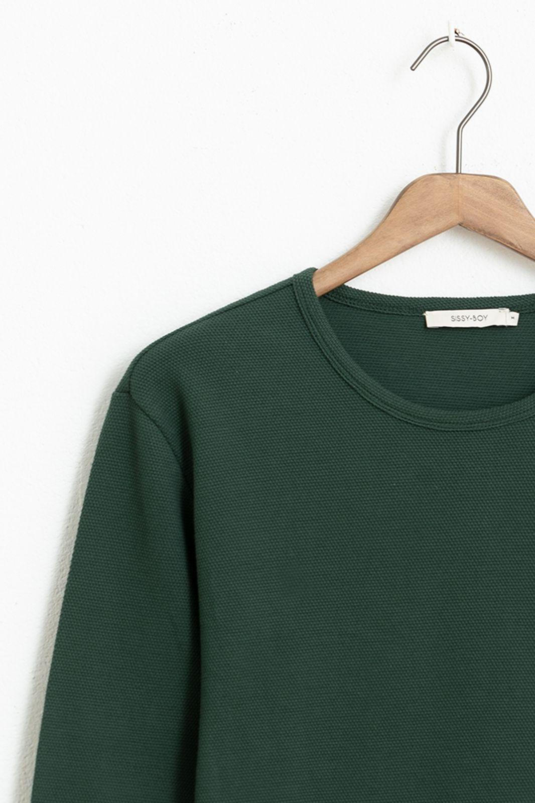 Groen T-shirt structuur