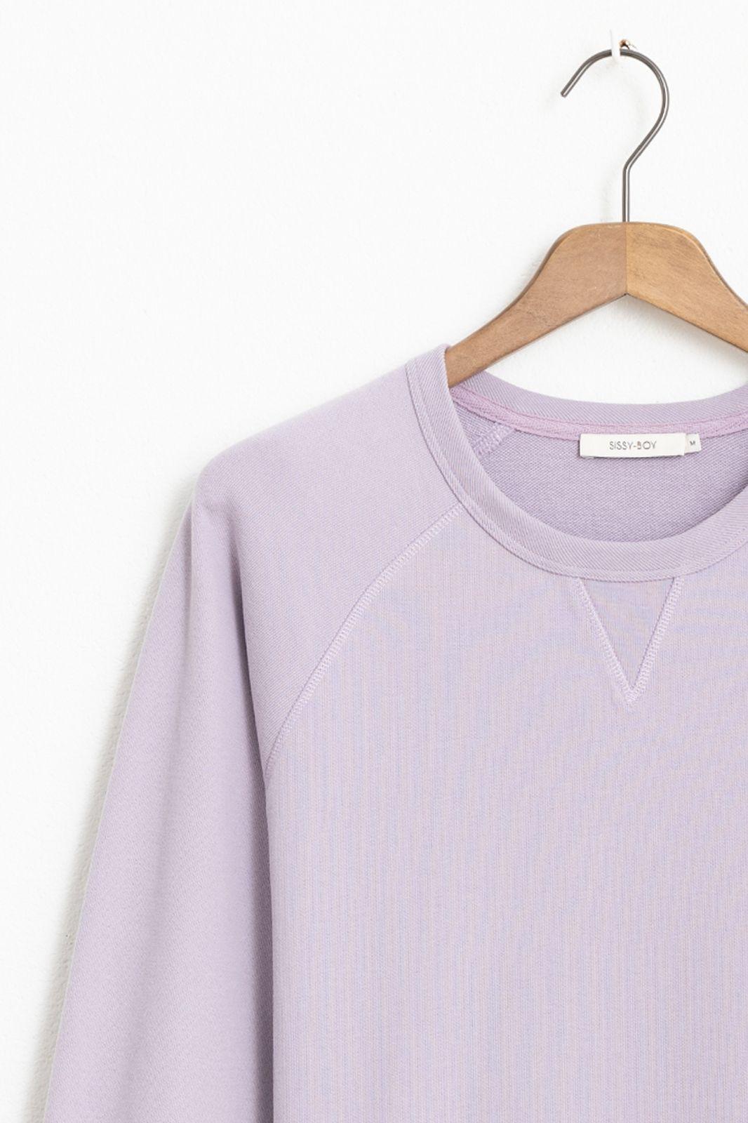 Lila basic sweater - Heren | Sissy-Boy