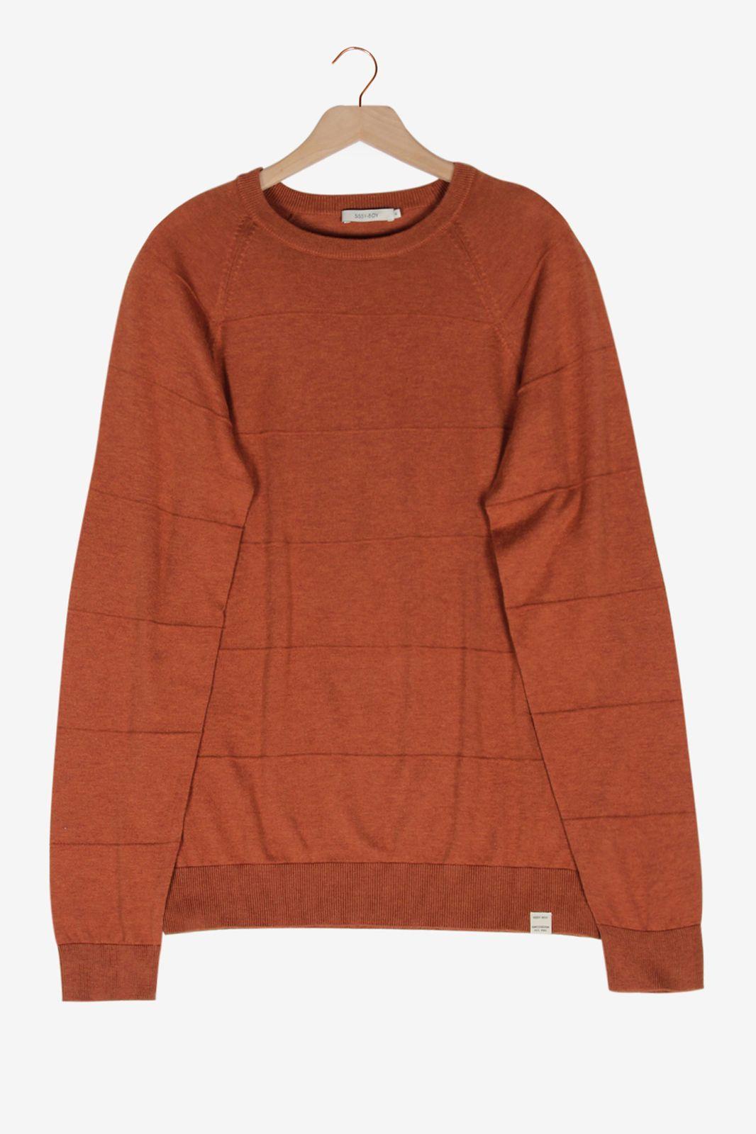 Oker knit trui - Heren | Sissy-Boy