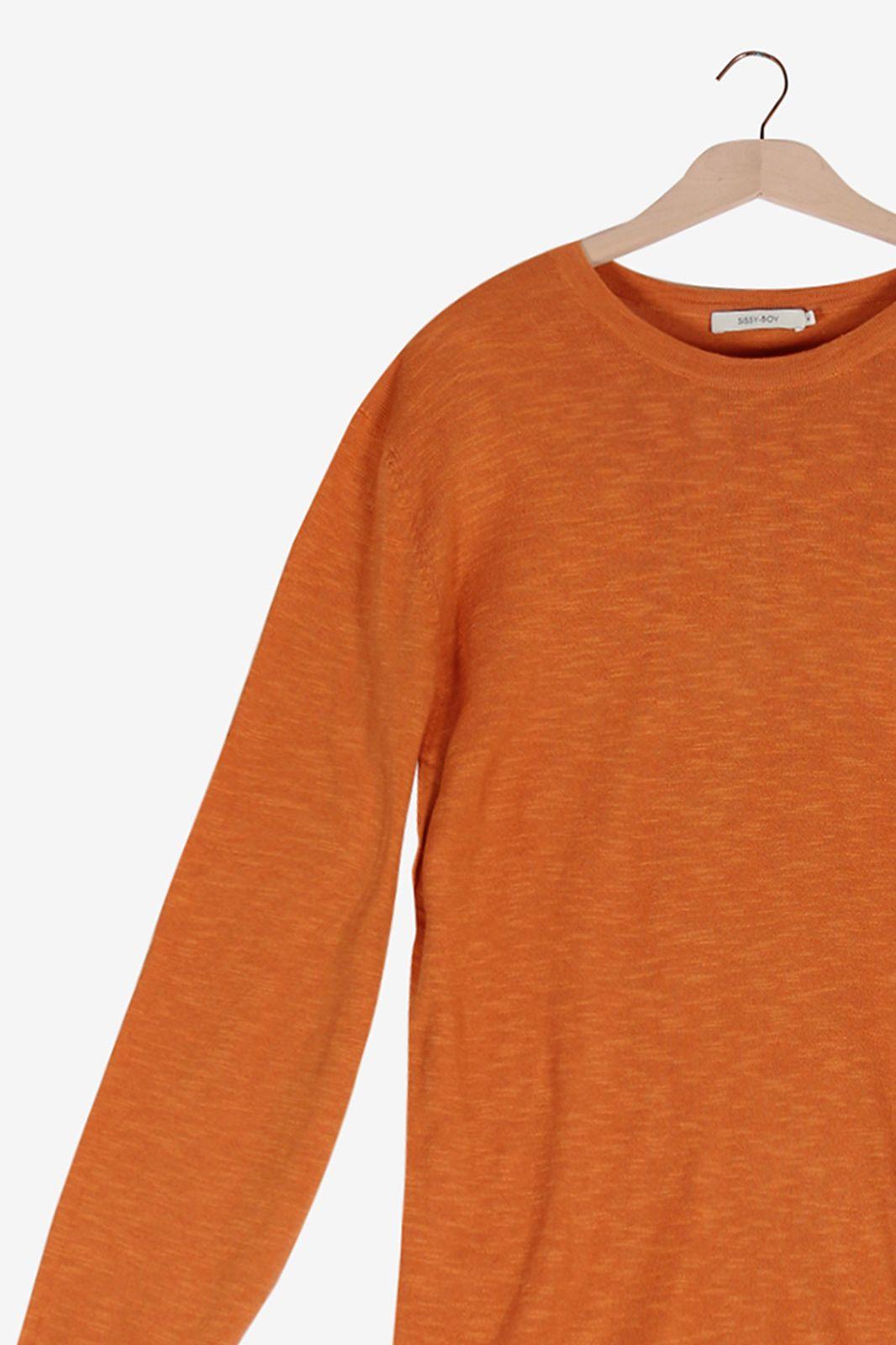 Oranje linnen trui - Heren | Sissy-Boy