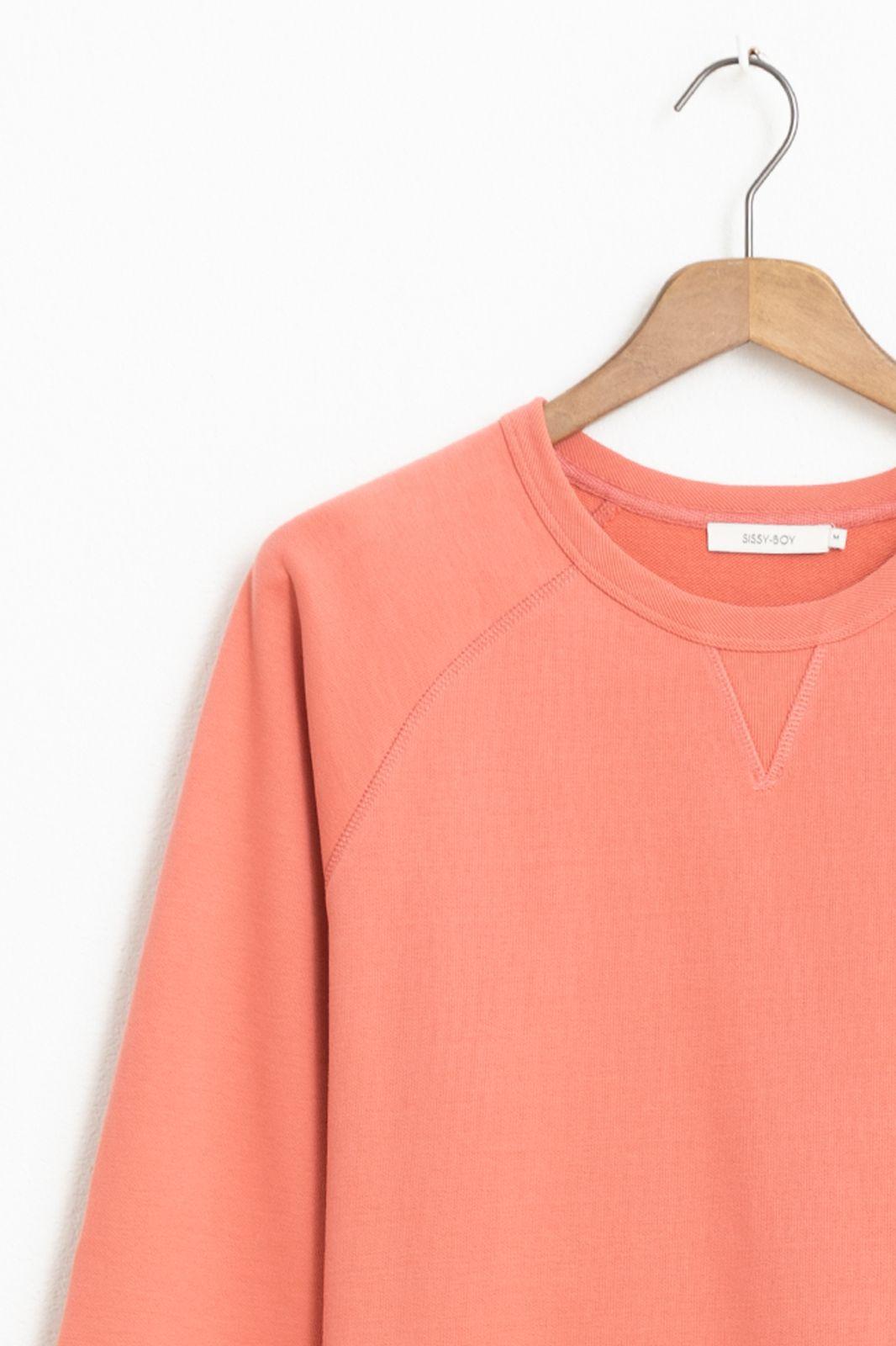 Roze basic sweater