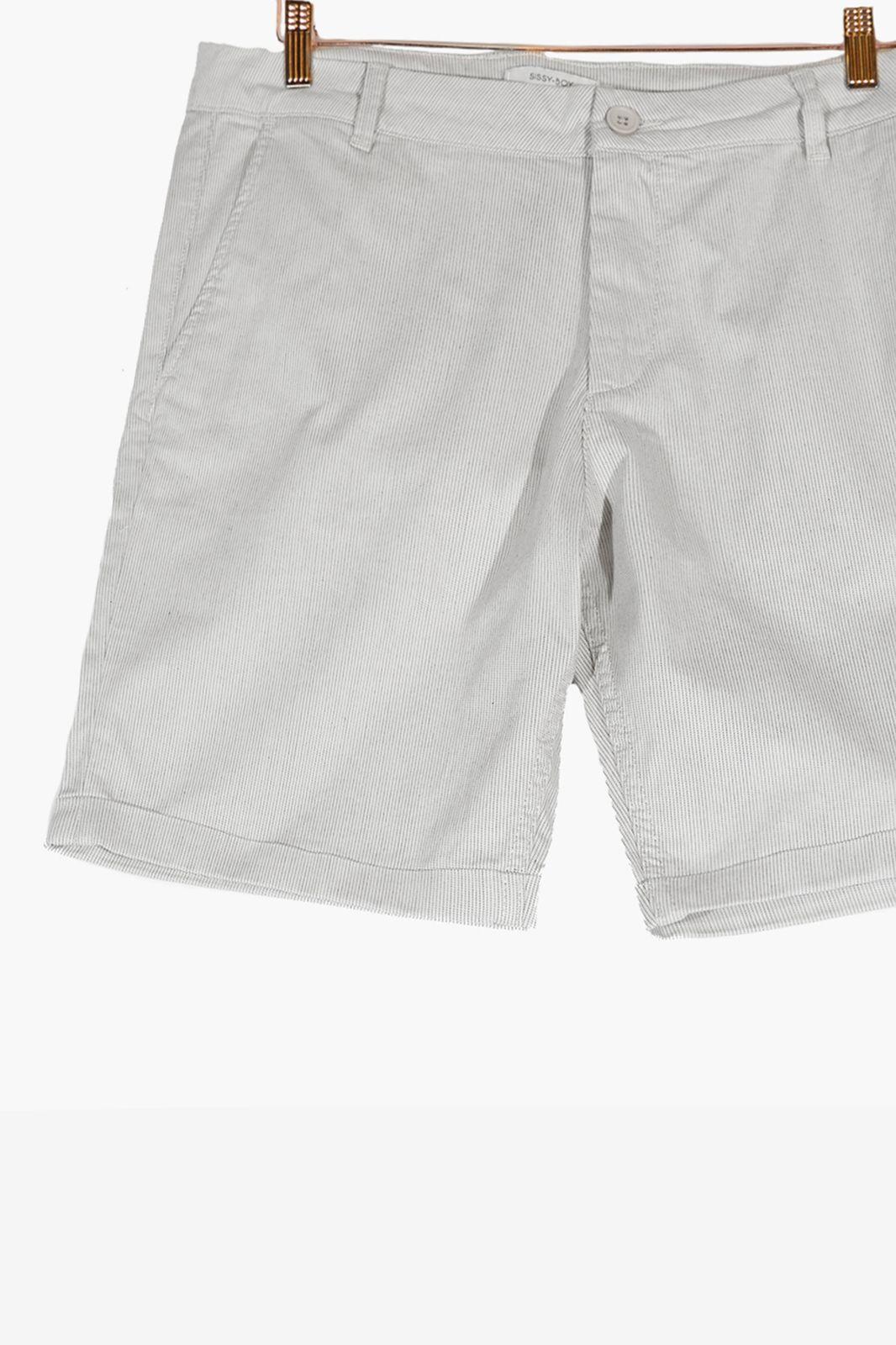 Witte chino shorts