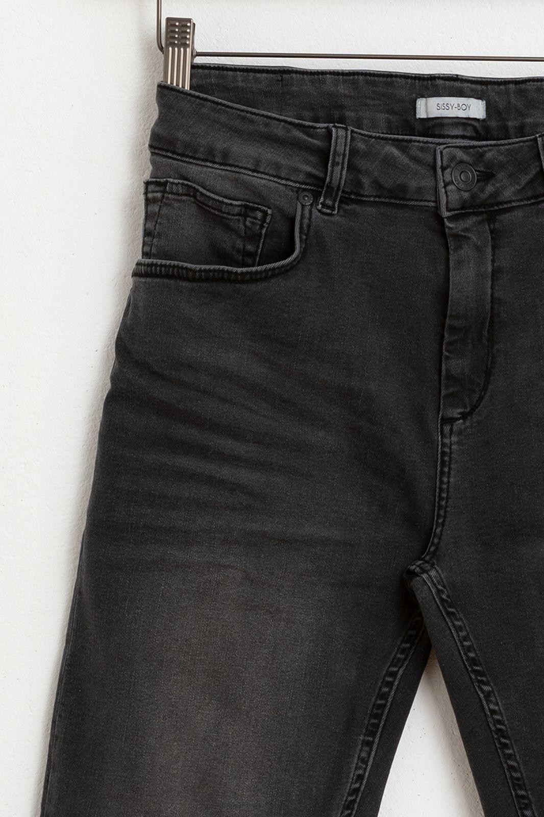 Zwarte denim shorts
